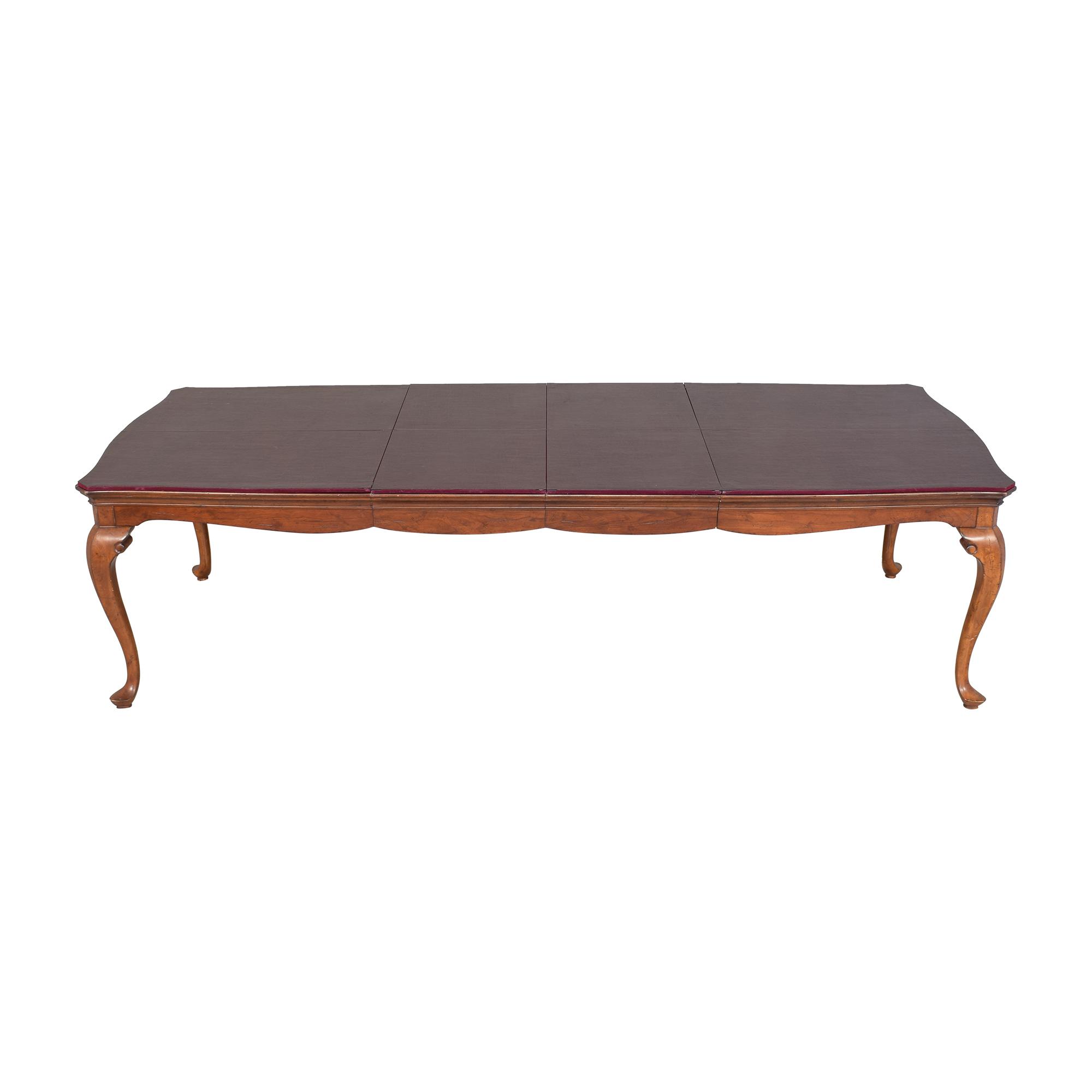 Thomasville Thomasville Extendable Dining Table used