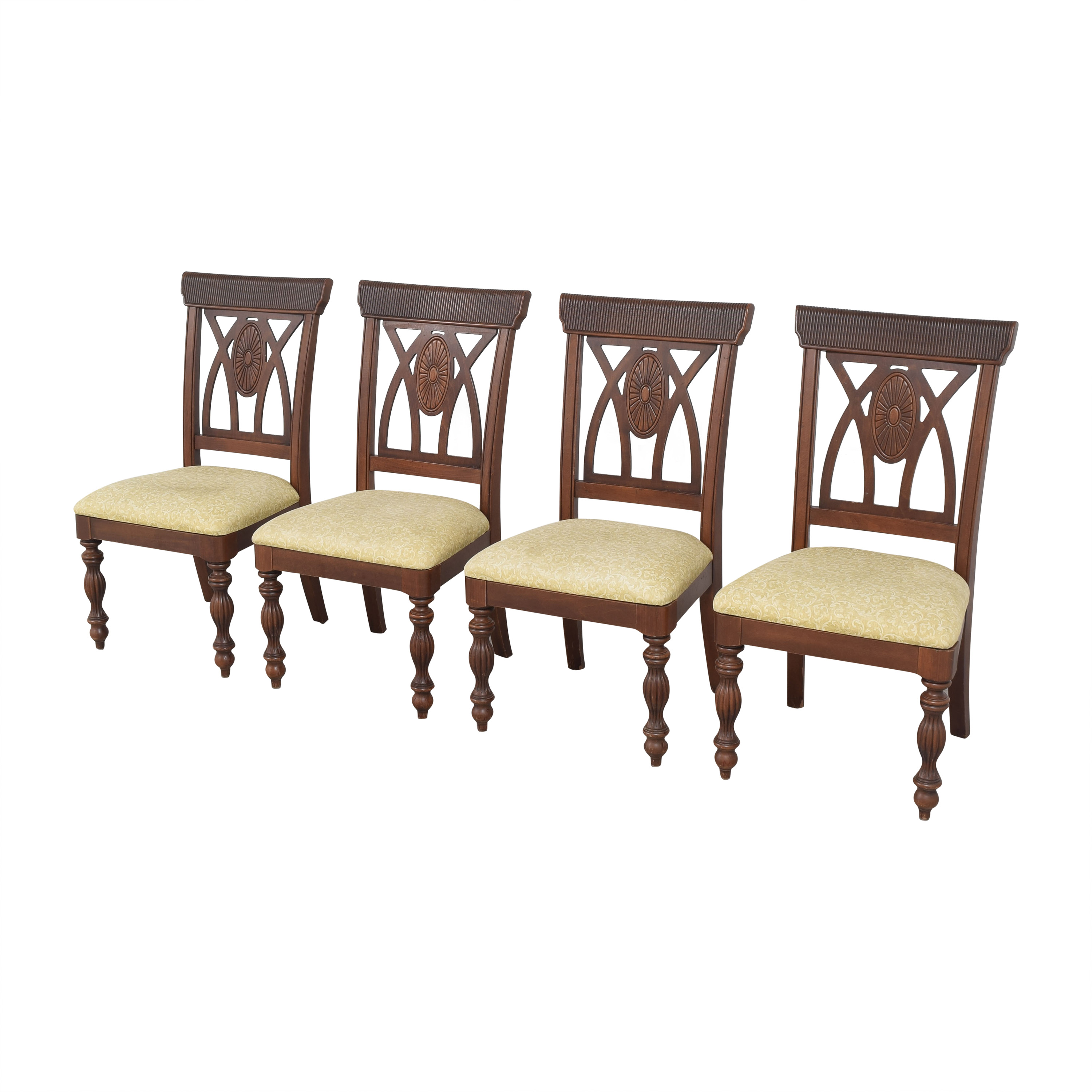 buy Upholstered Carved Dining Chairs  Chairs