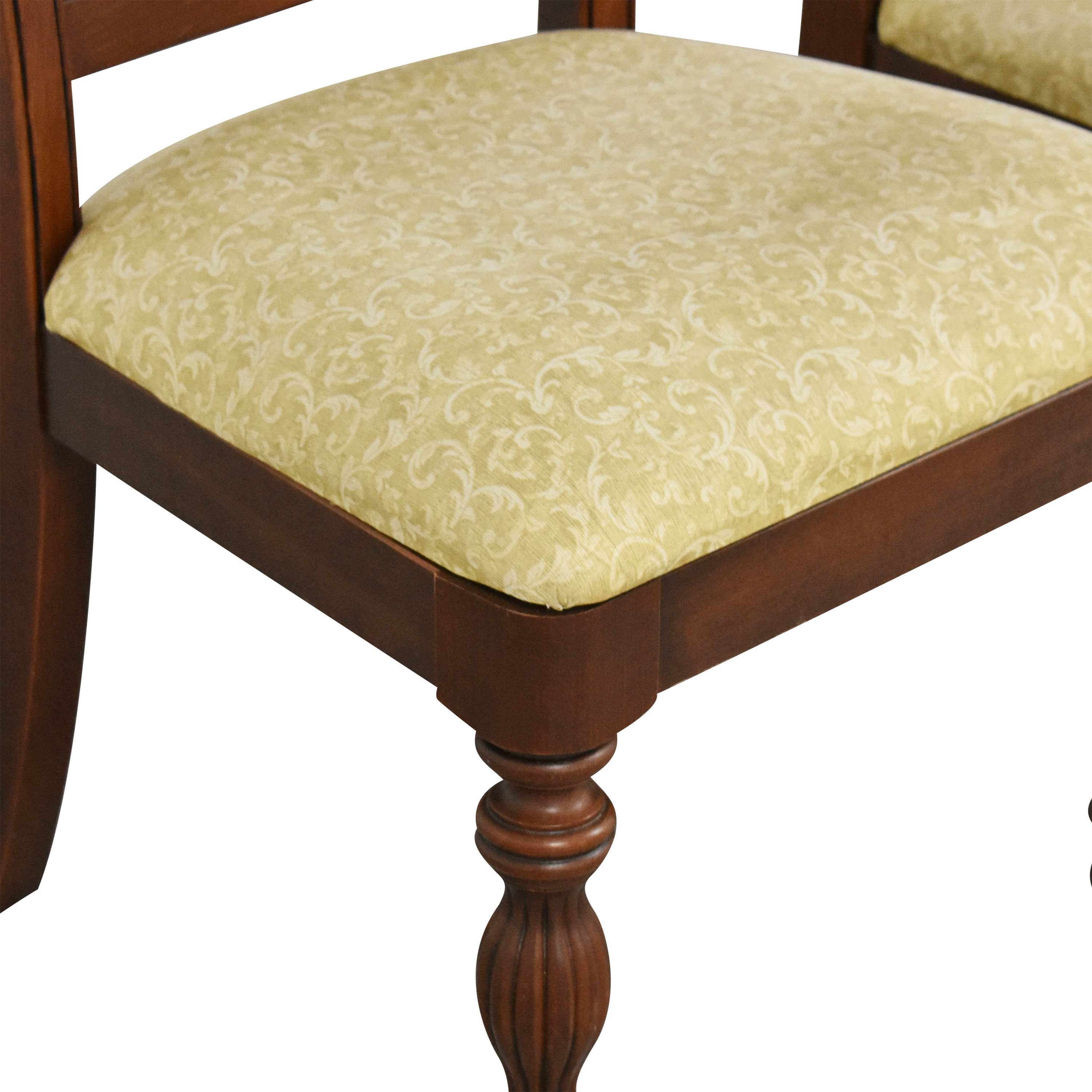 buy Upholstered Carved Dining Chairs