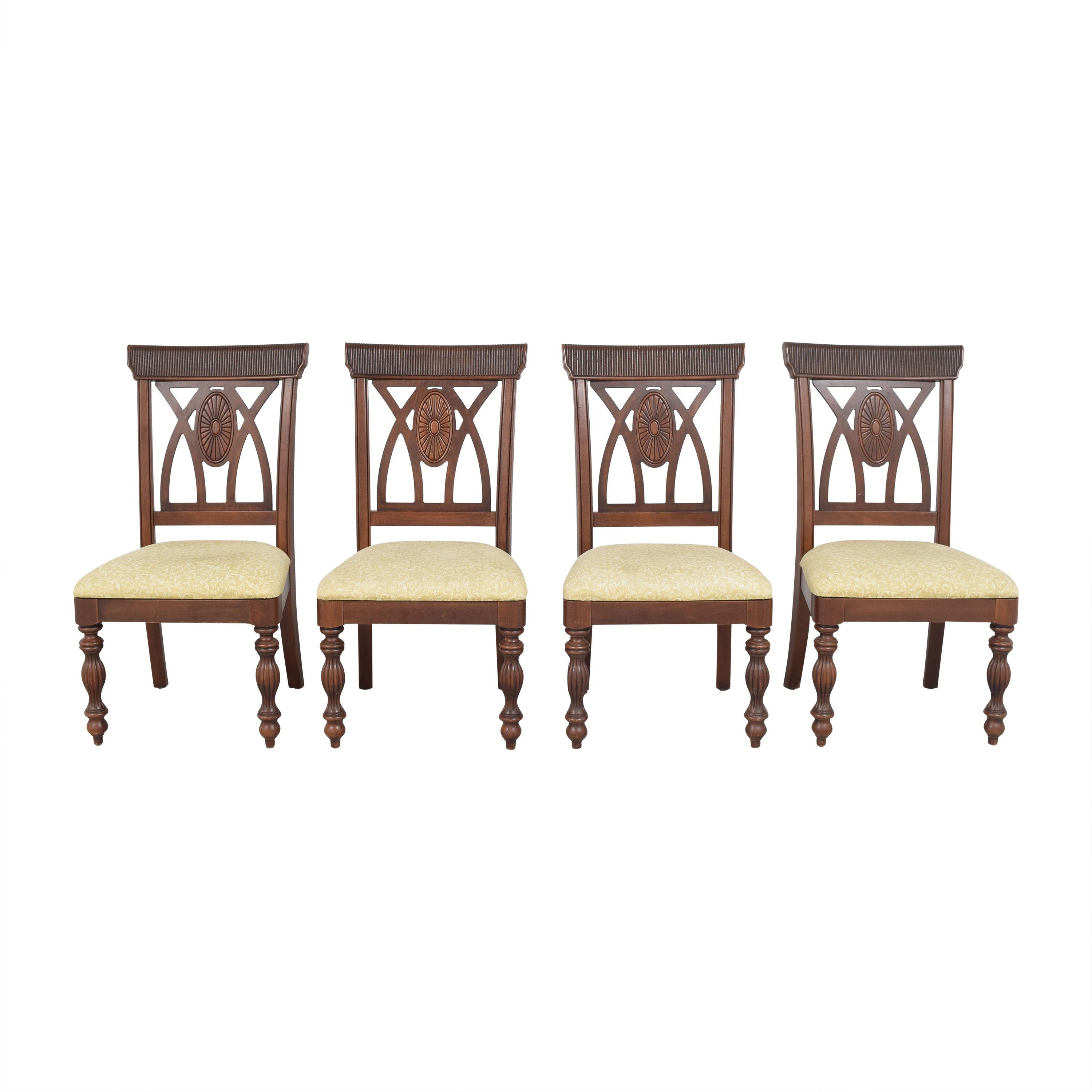 buy  Upholstered Carved Dining Chairs online