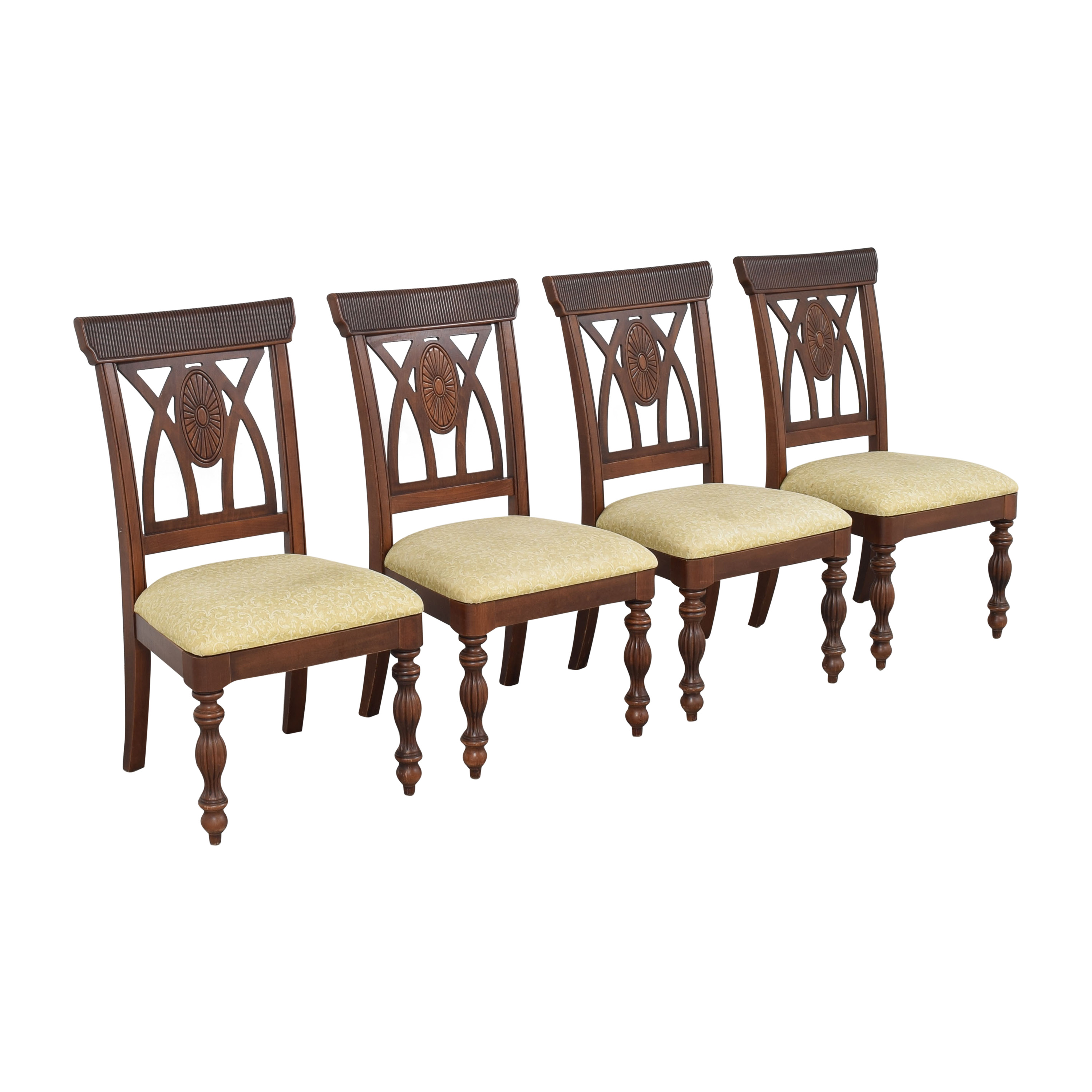 shop Upholstered Carved Dining Chairs  Dining Chairs