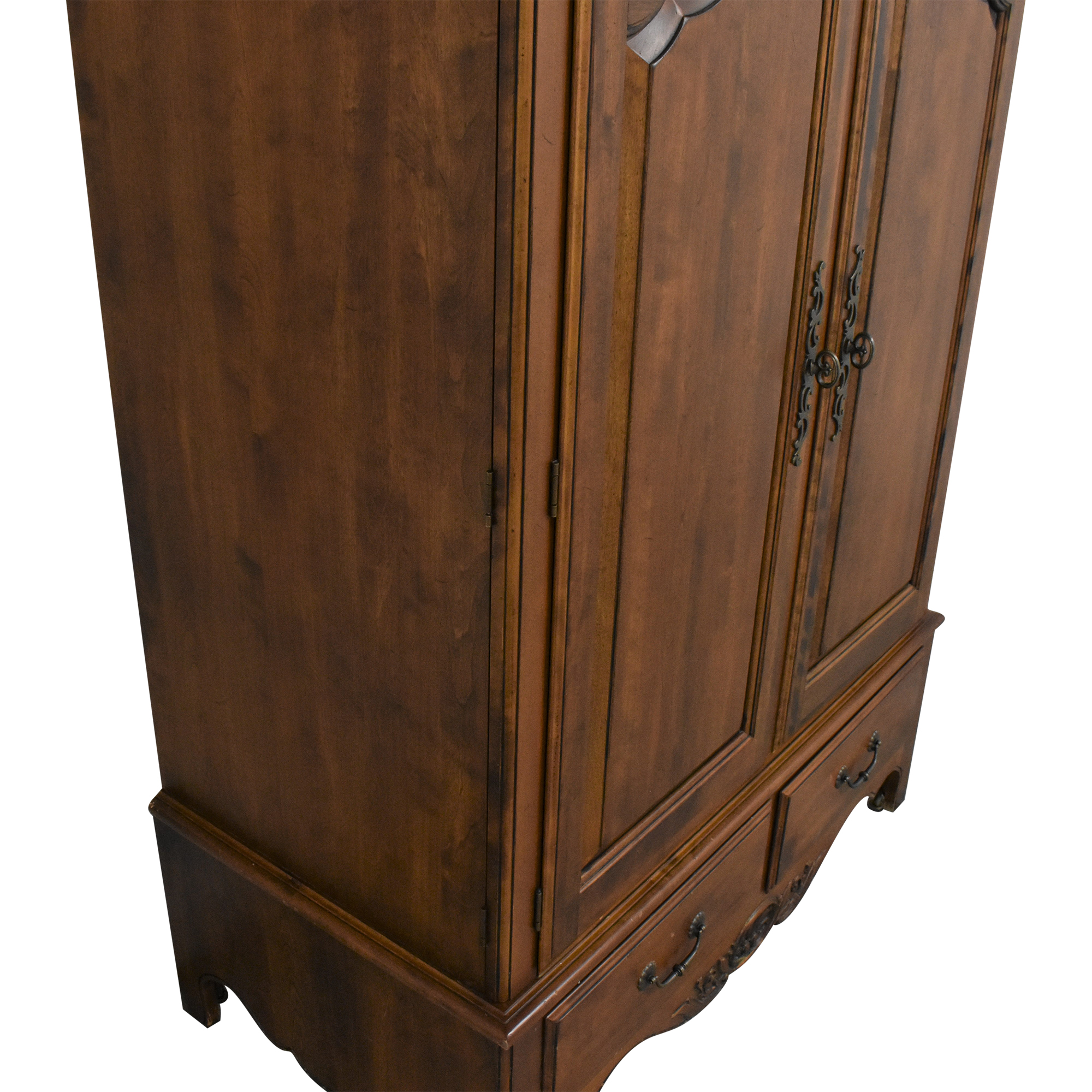 buy Ethan Allen Country French Media Armoire Ethan Allen Storage