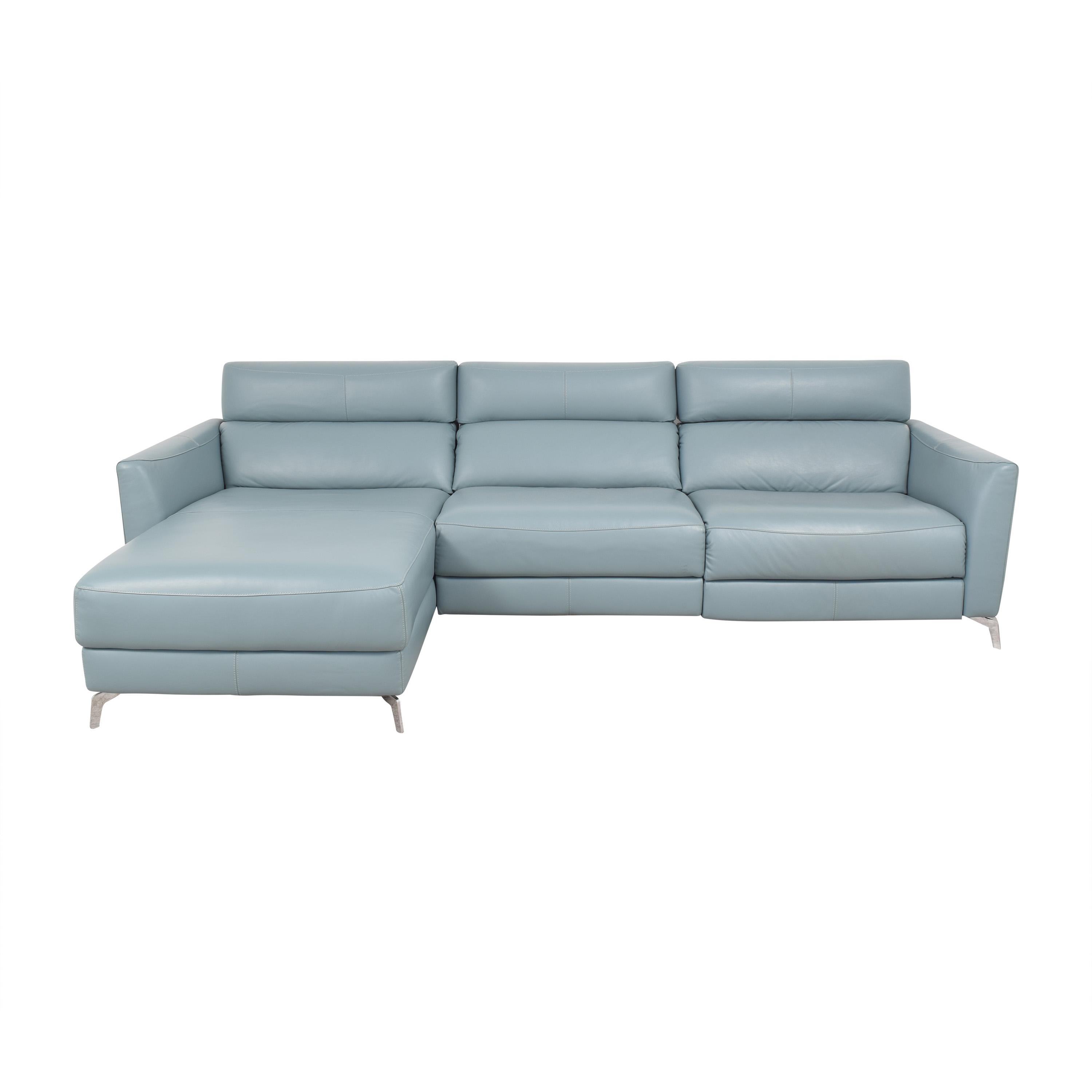Natuzzi Natuzzi Reclining Sectional with Chaise second hand