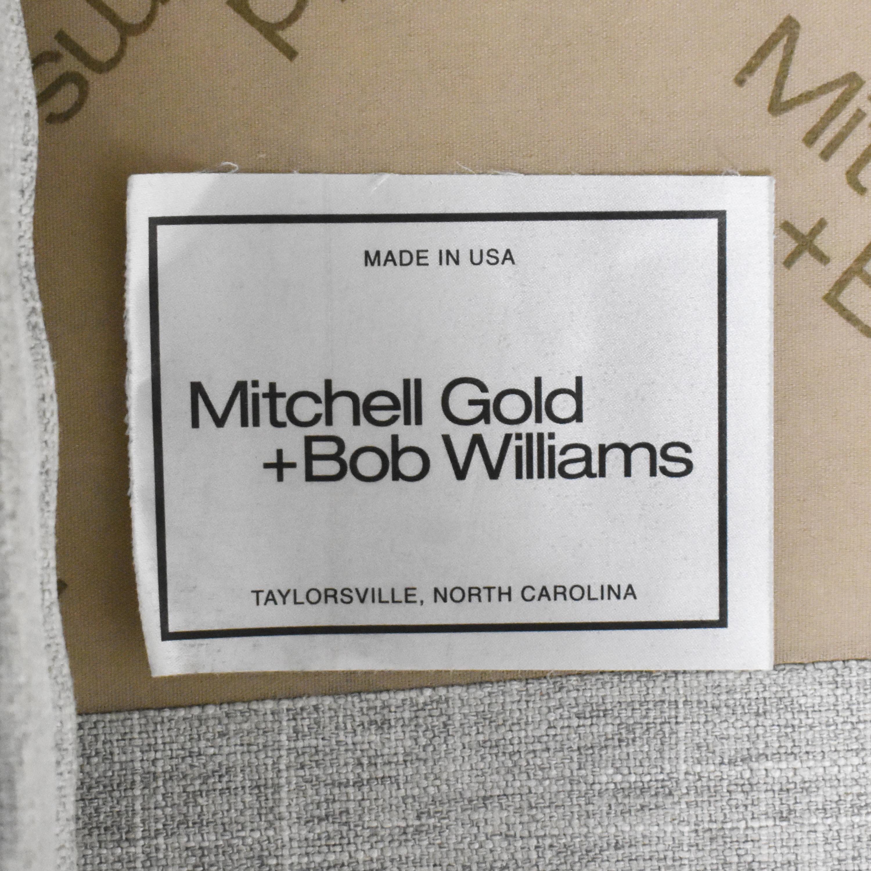 buy Mitchell Gold + Bob Williams Sectional Sofa with Chaise Mitchell Gold + Bob Williams Sectionals