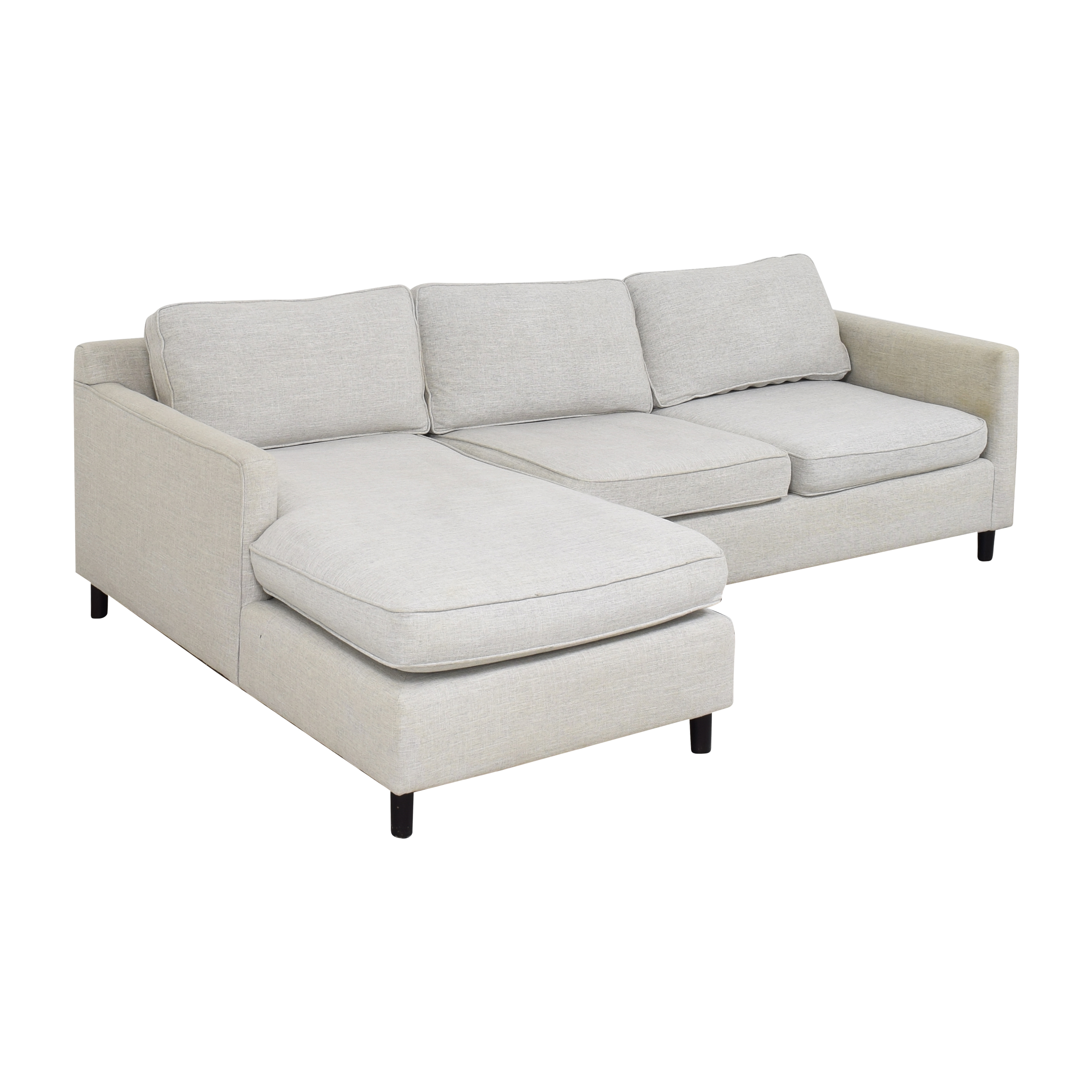 Mitchell Gold + Bob Williams Mitchell Gold + Bob Williams Sectional Sofa with Chaise ct