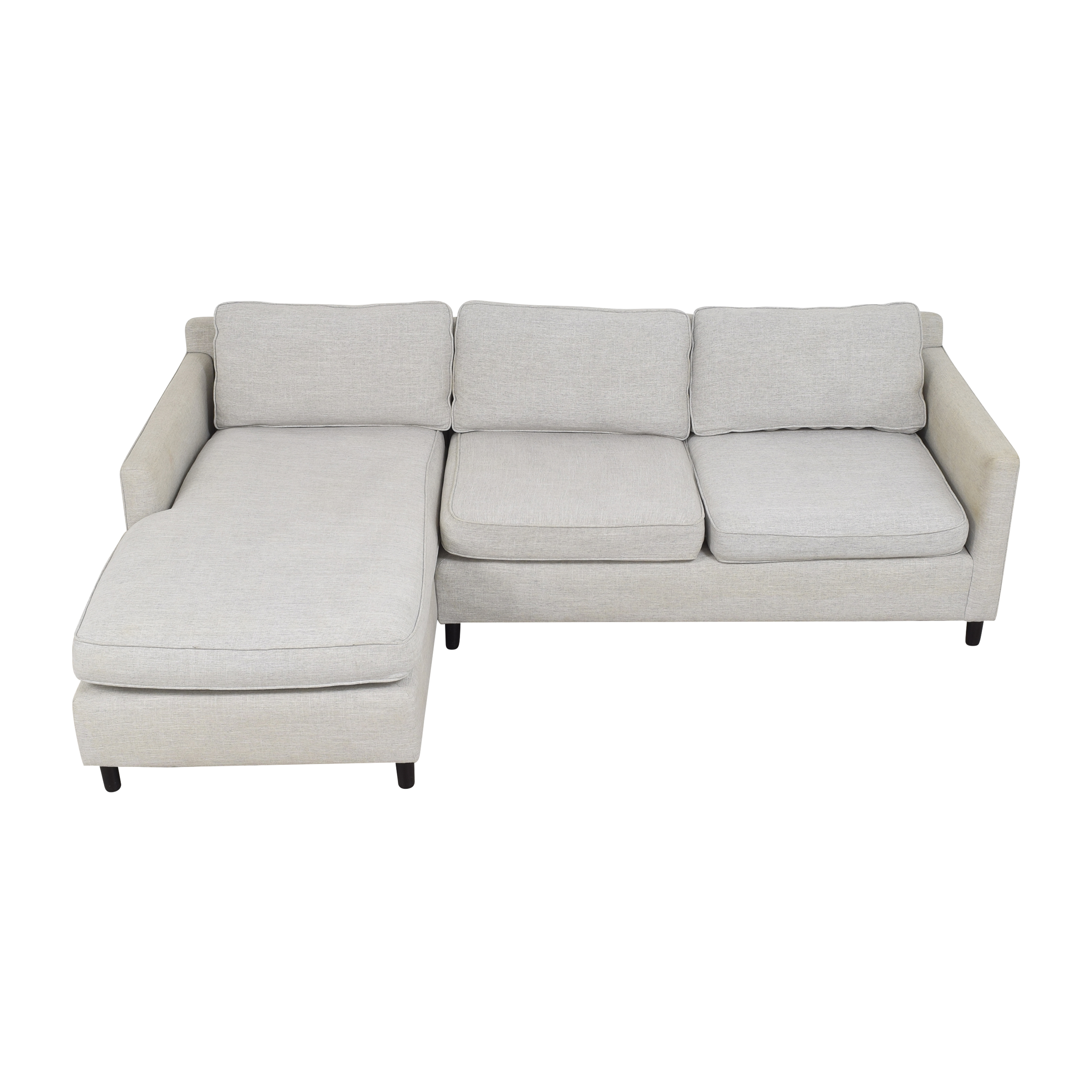 Mitchell Gold + Bob Williams Mitchell Gold + Bob Williams Sectional Sofa with Chaise nyc