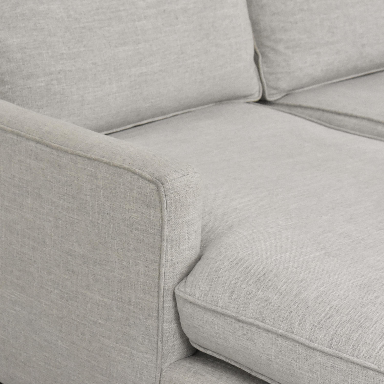 shop Mitchell Gold + Bob Williams Sectional Sofa with Chaise Mitchell Gold + Bob Williams Sectionals