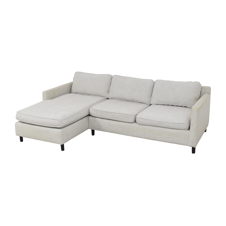 shop Mitchell Gold + Bob Williams Sectional Sofa with Chaise Mitchell Gold + Bob Williams Sofas