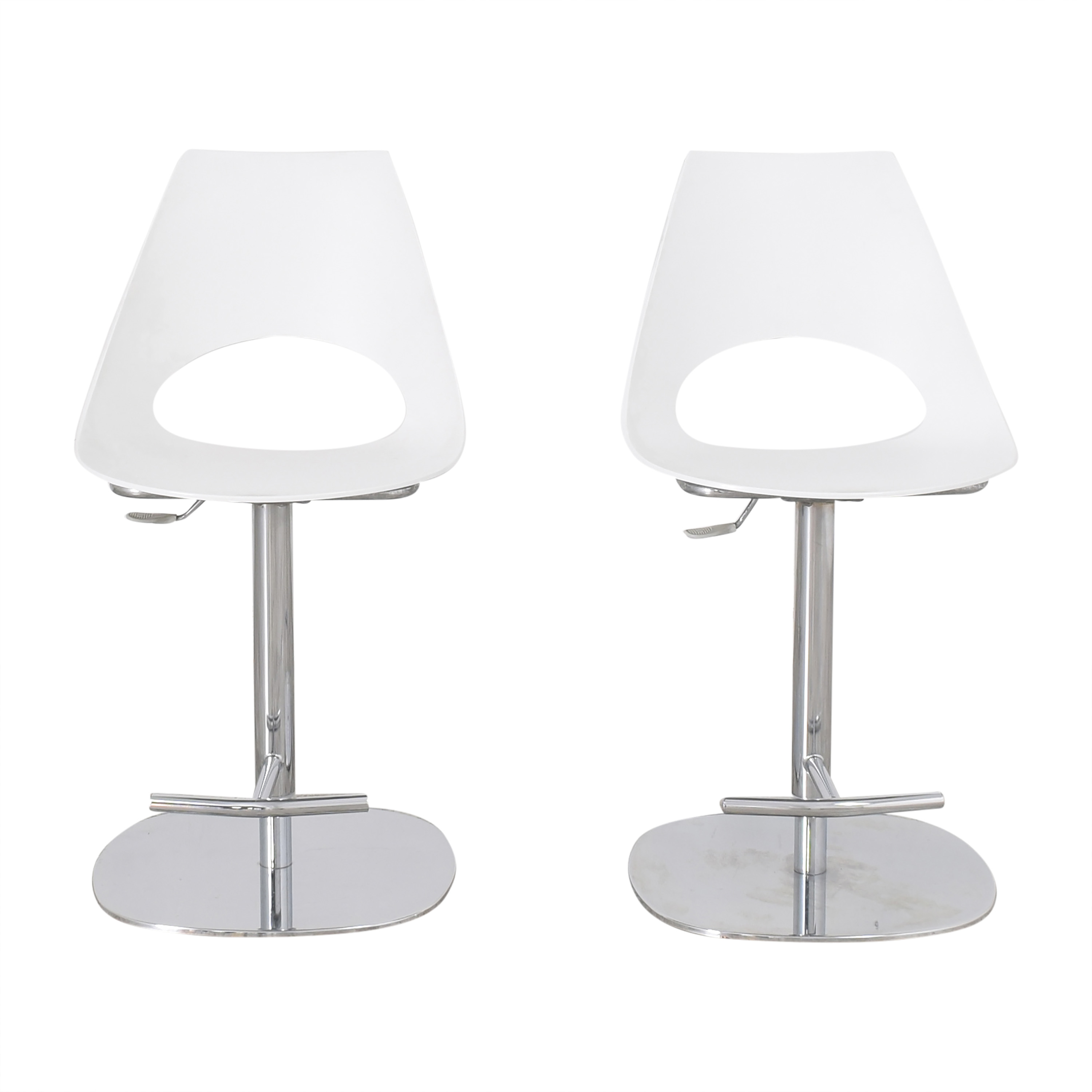 Bontempi Shark Adjustable Swivel Bar Stools / Stools