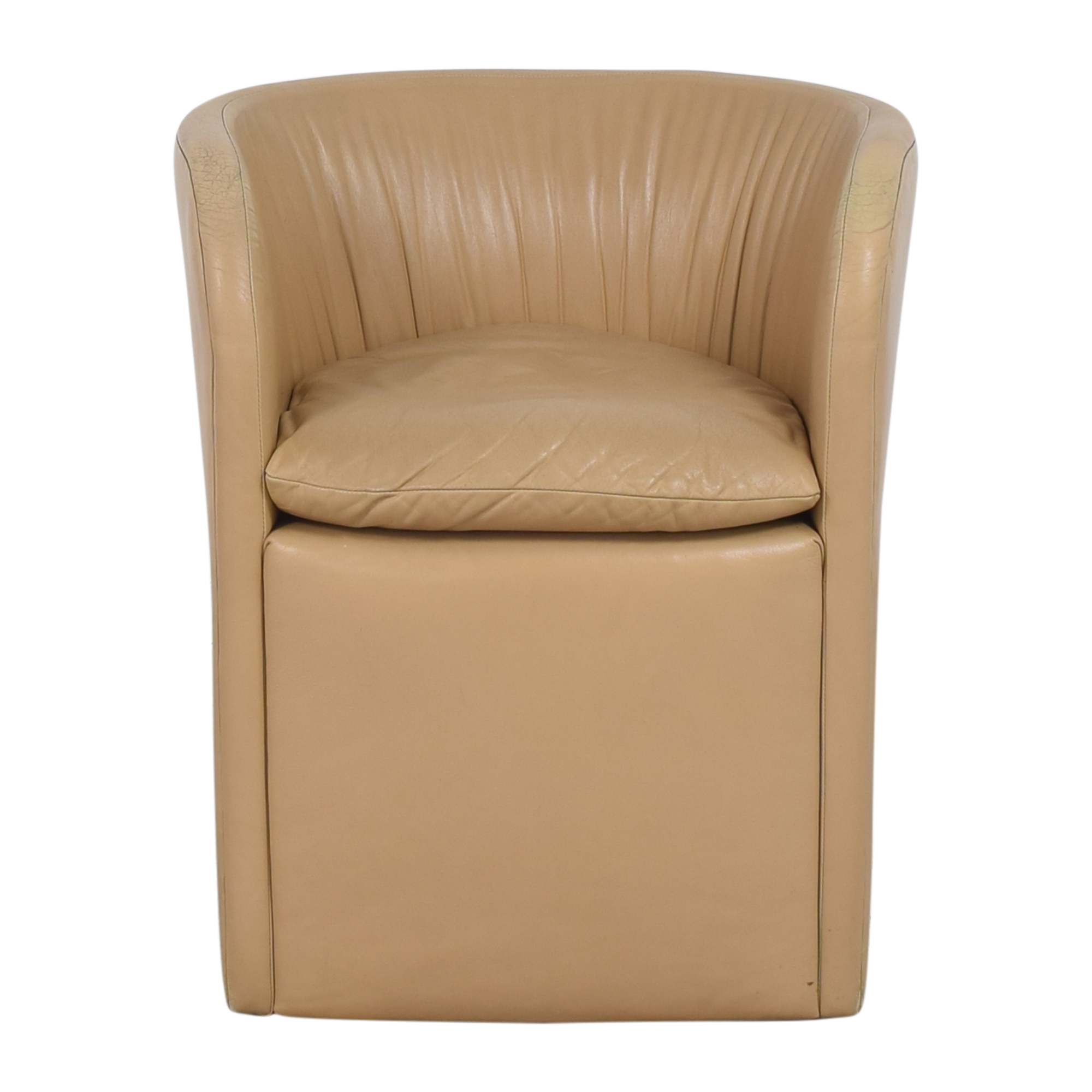 David Edward David Edward by John Saladino Barrel Chair on sale