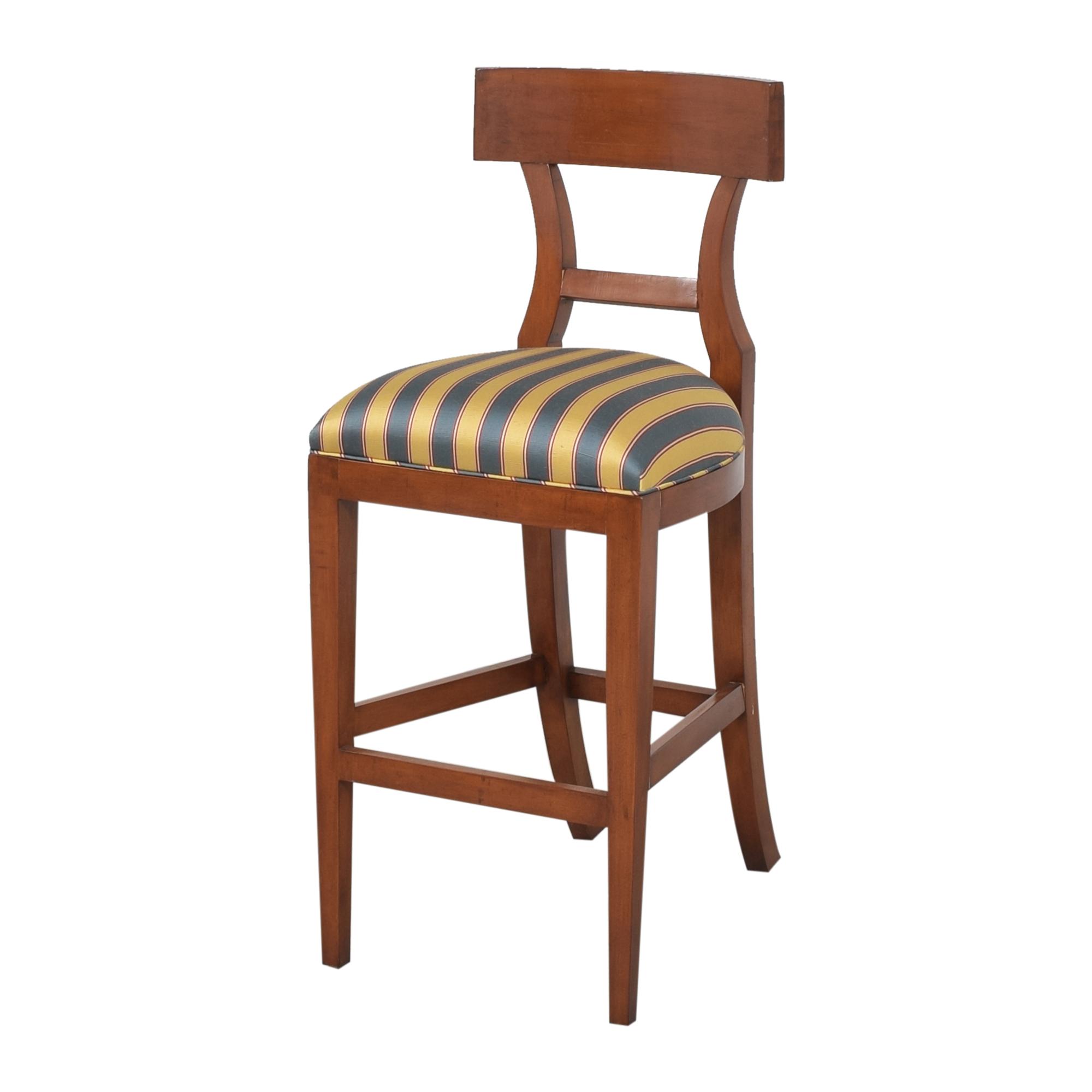 Niedermaier Furniture Niedermaier Stripe Upholstered Bar Stools price