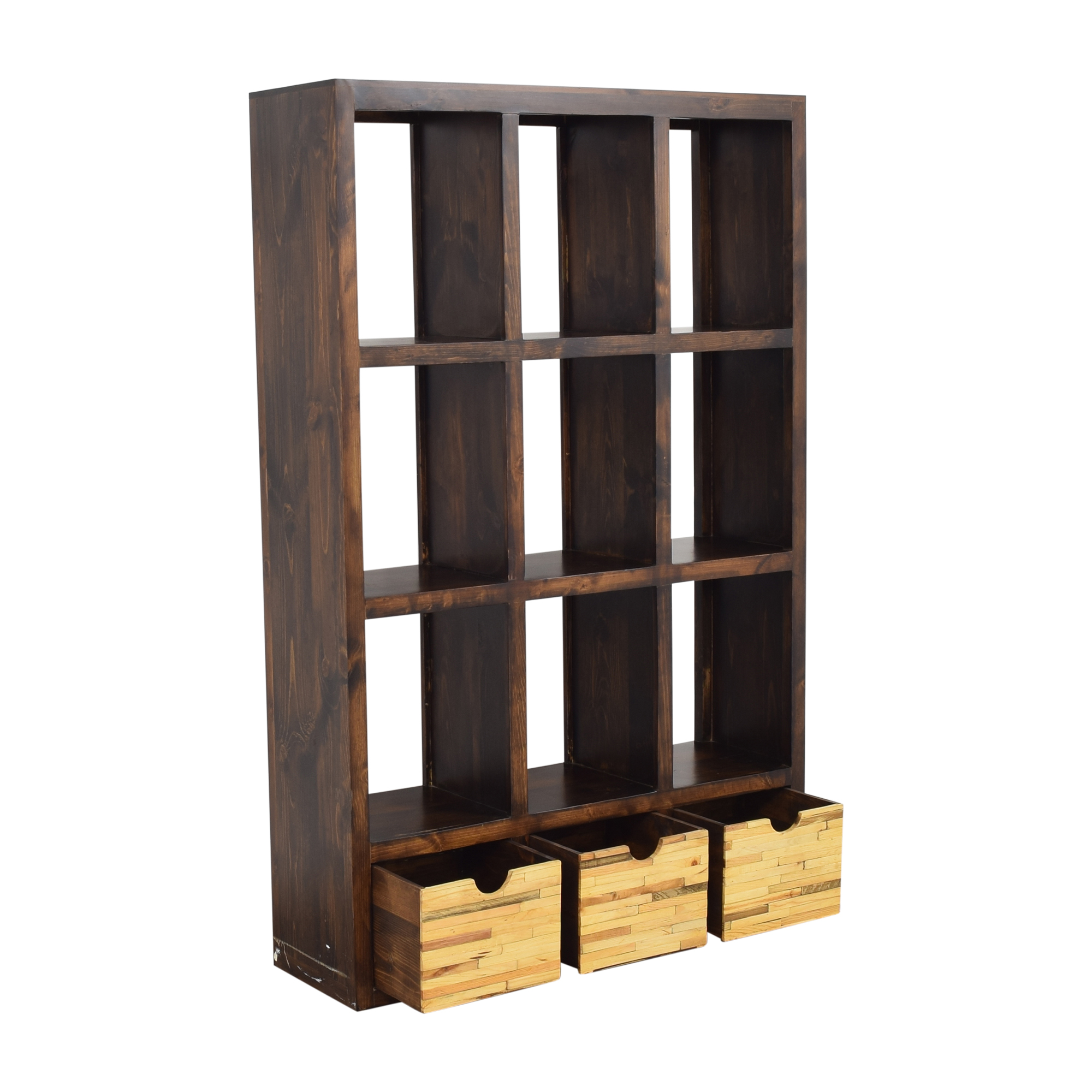 shop Display Bookshelf with Storage  Bookcases & Shelving