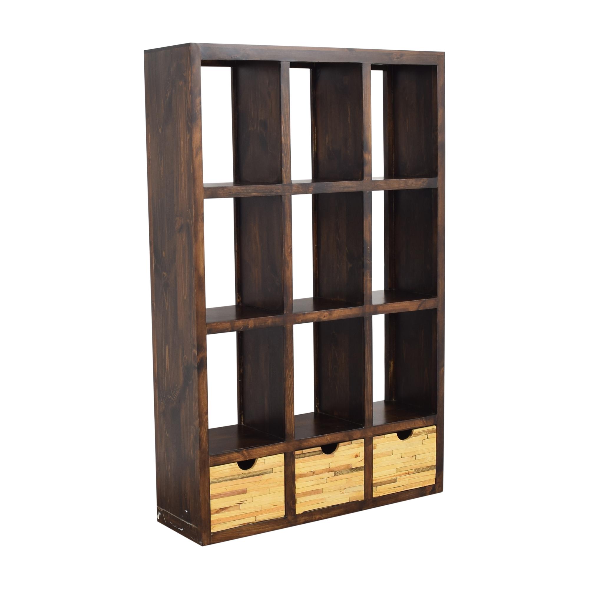 Display Bookshelf with Storage price