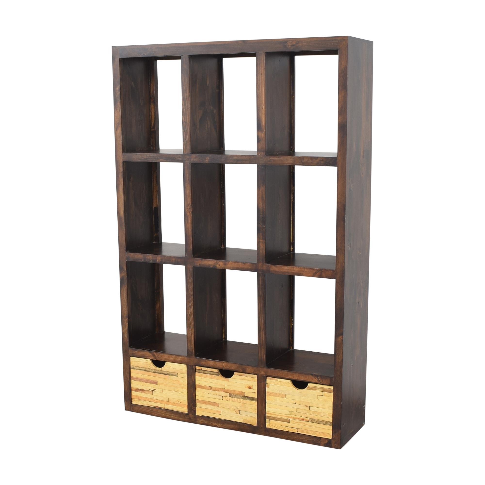 Display Bookshelf with Storage on sale