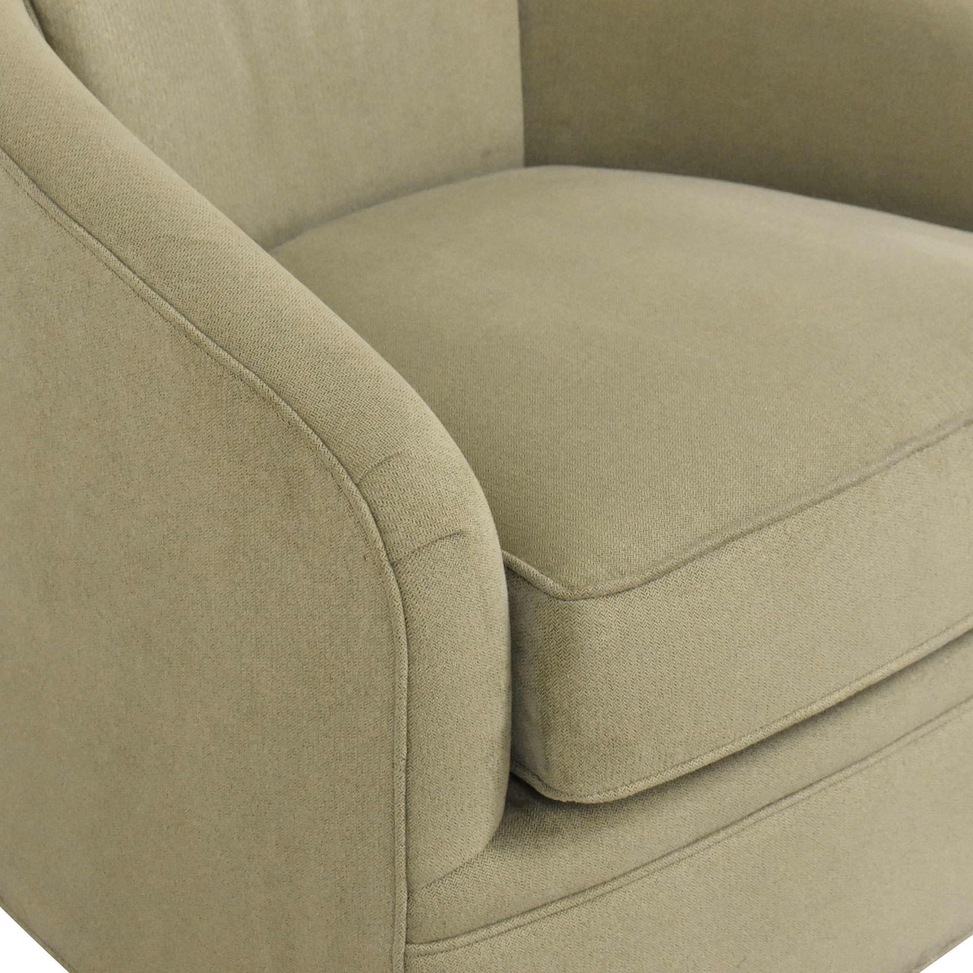 buy Maurice Villency Cushion Tub Swivel Chair Maurice Villency Accent Chairs