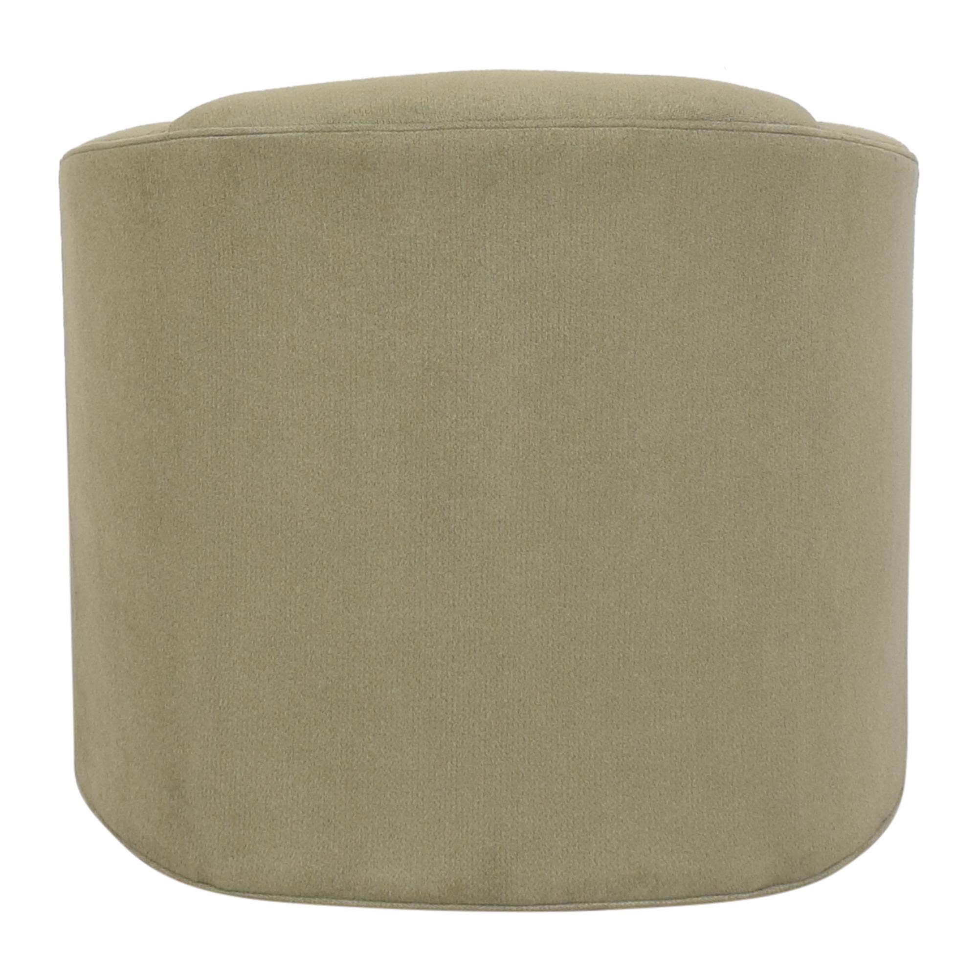 buy Maurice Villency Cushion Tub Swivel Chair Maurice Villency Chairs