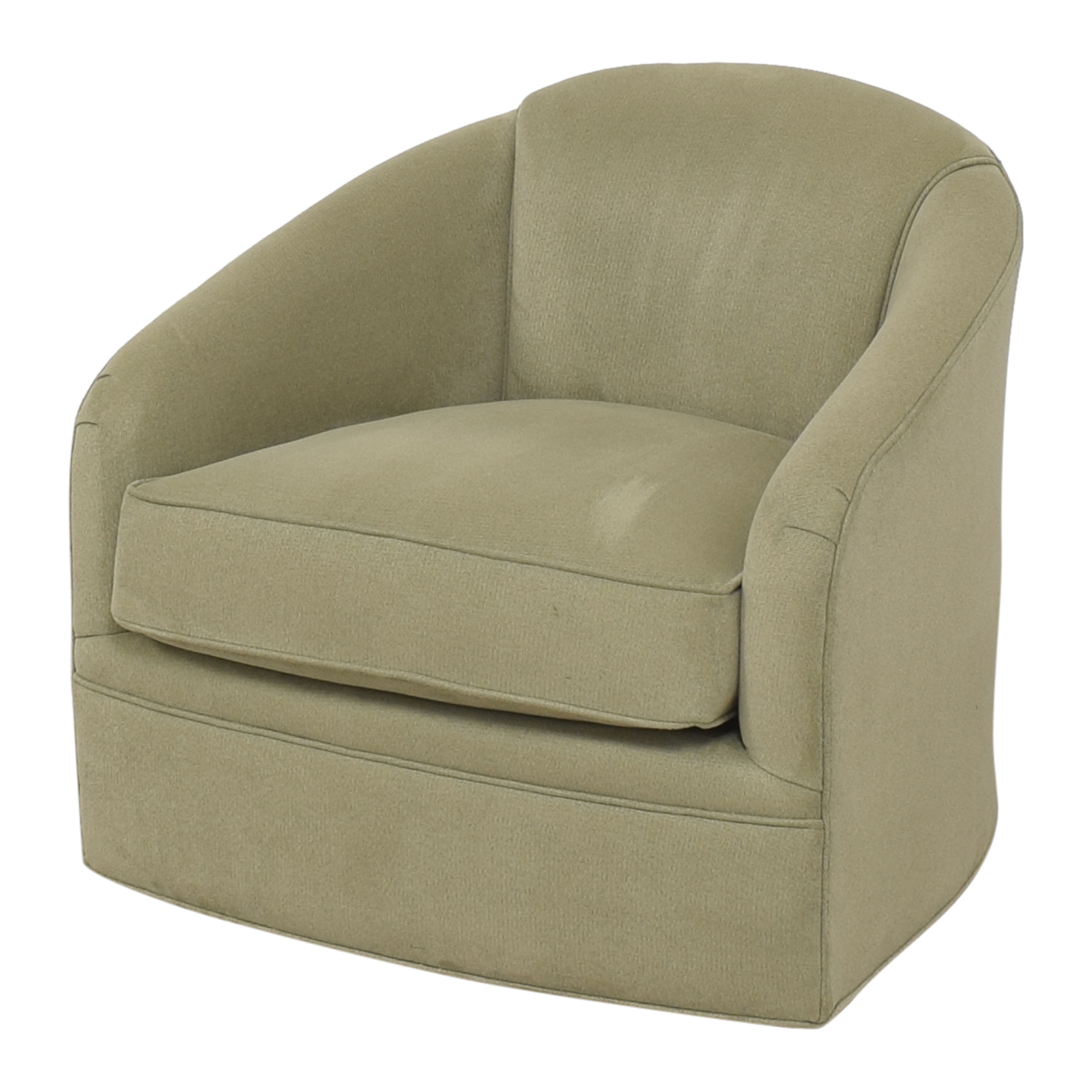 Maurice Villency Maurice Villency Cushion Tub Swivel Chair