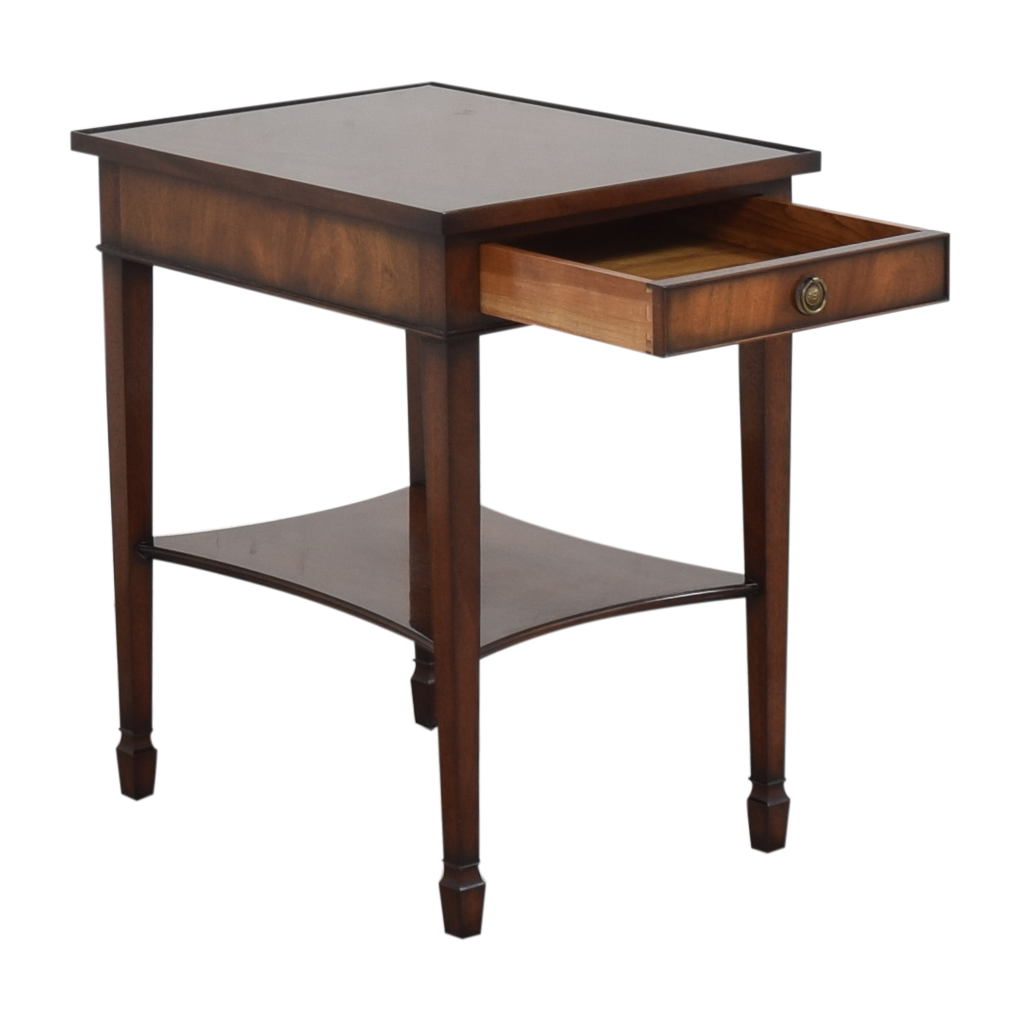 shop  Smith & Watson Single Drawer End Table Smith & Watson