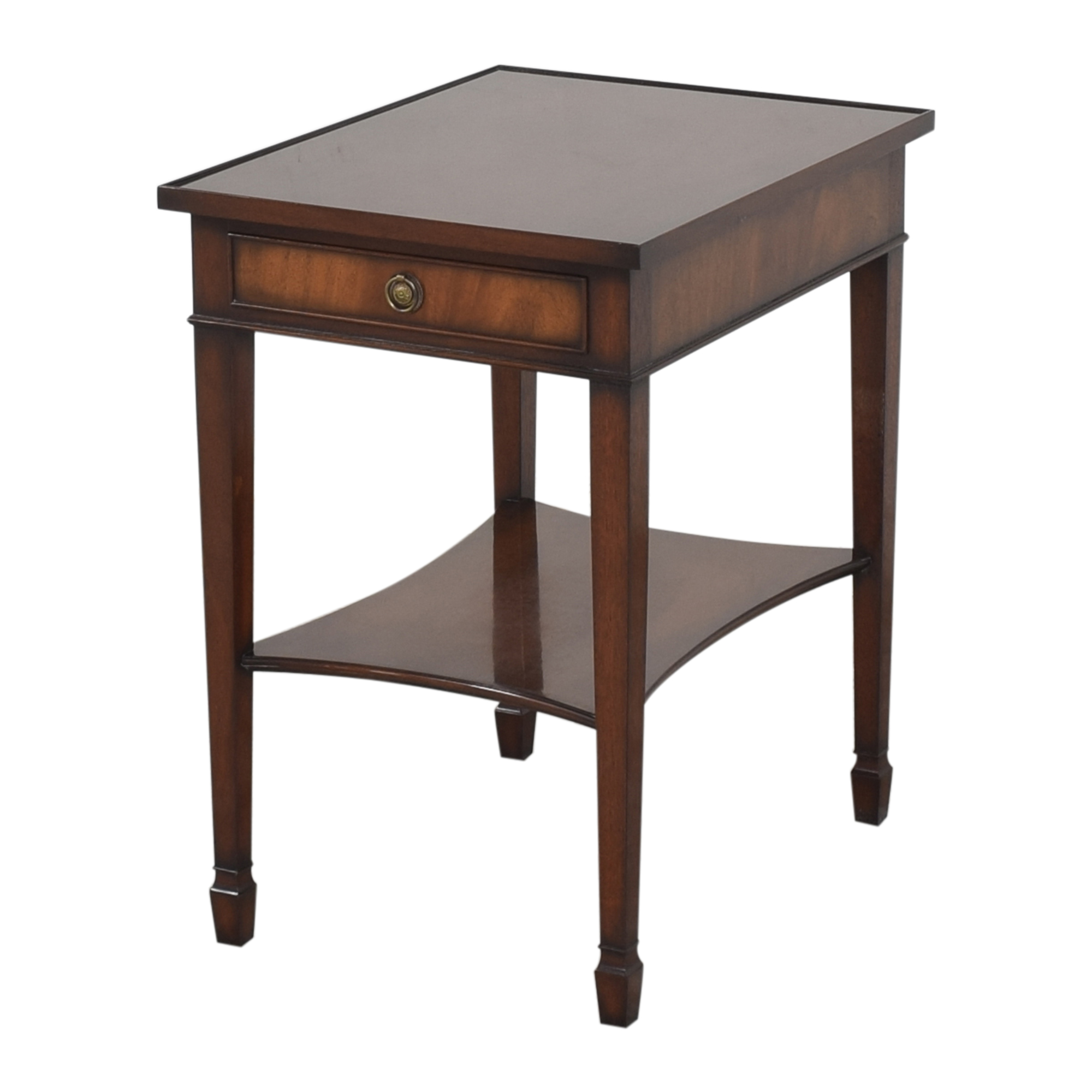Smith & Watson  Smith & Watson Single Drawer End Table ma