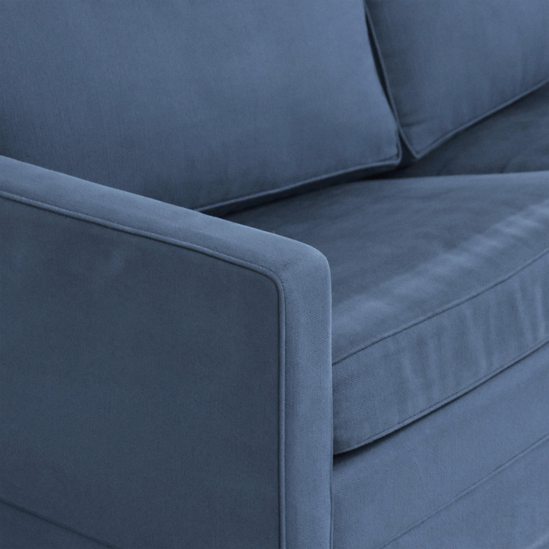 Carlyle Carlyle Two Cushion Skirted Sleeper Sofa price