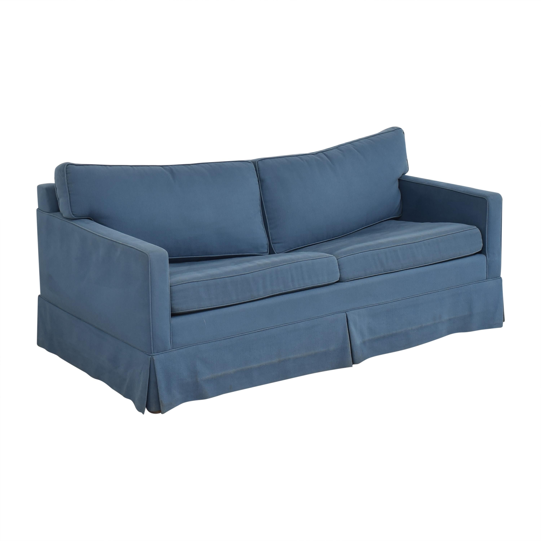 Carlyle Carlyle Two Cushion Skirted Sleeper Sofa nj