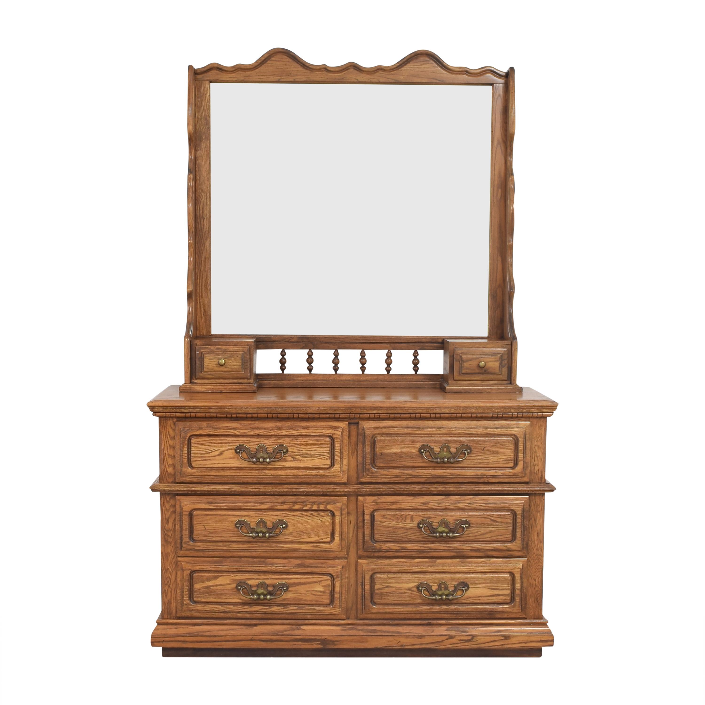 Lea Furniture Lea Furniture Dresser with Mirror Dressers