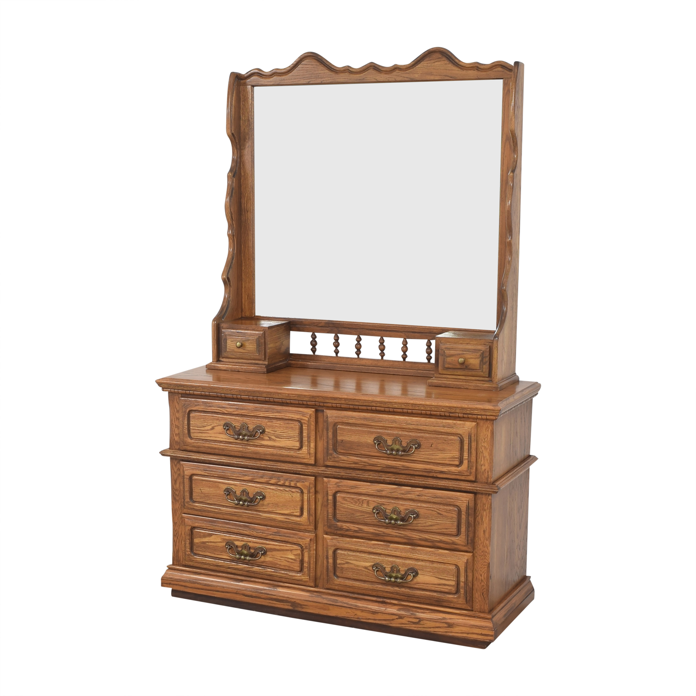 Lea Furniture Dresser with Mirror sale