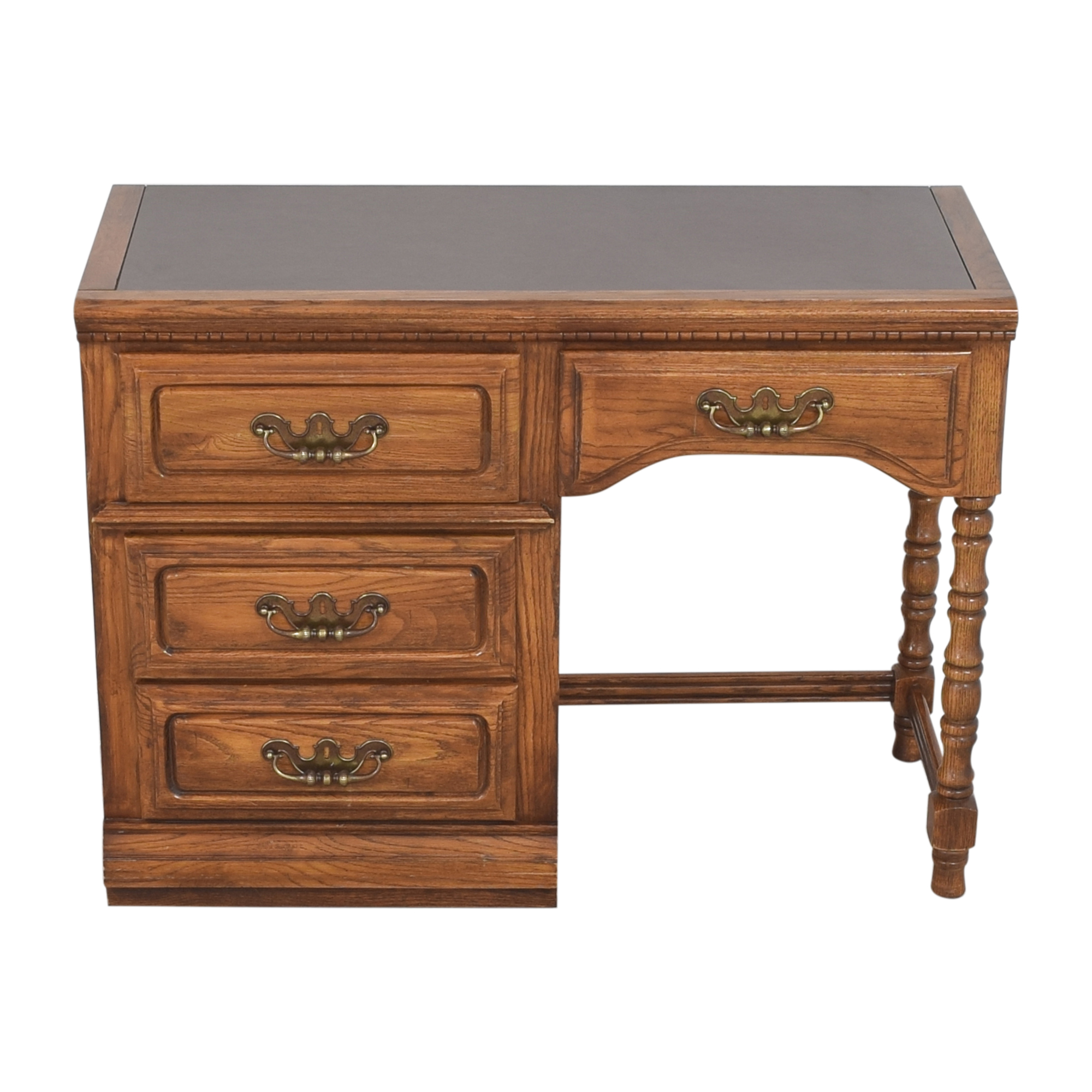 Lea Furniture Four Drawer Desk / Home Office Desks