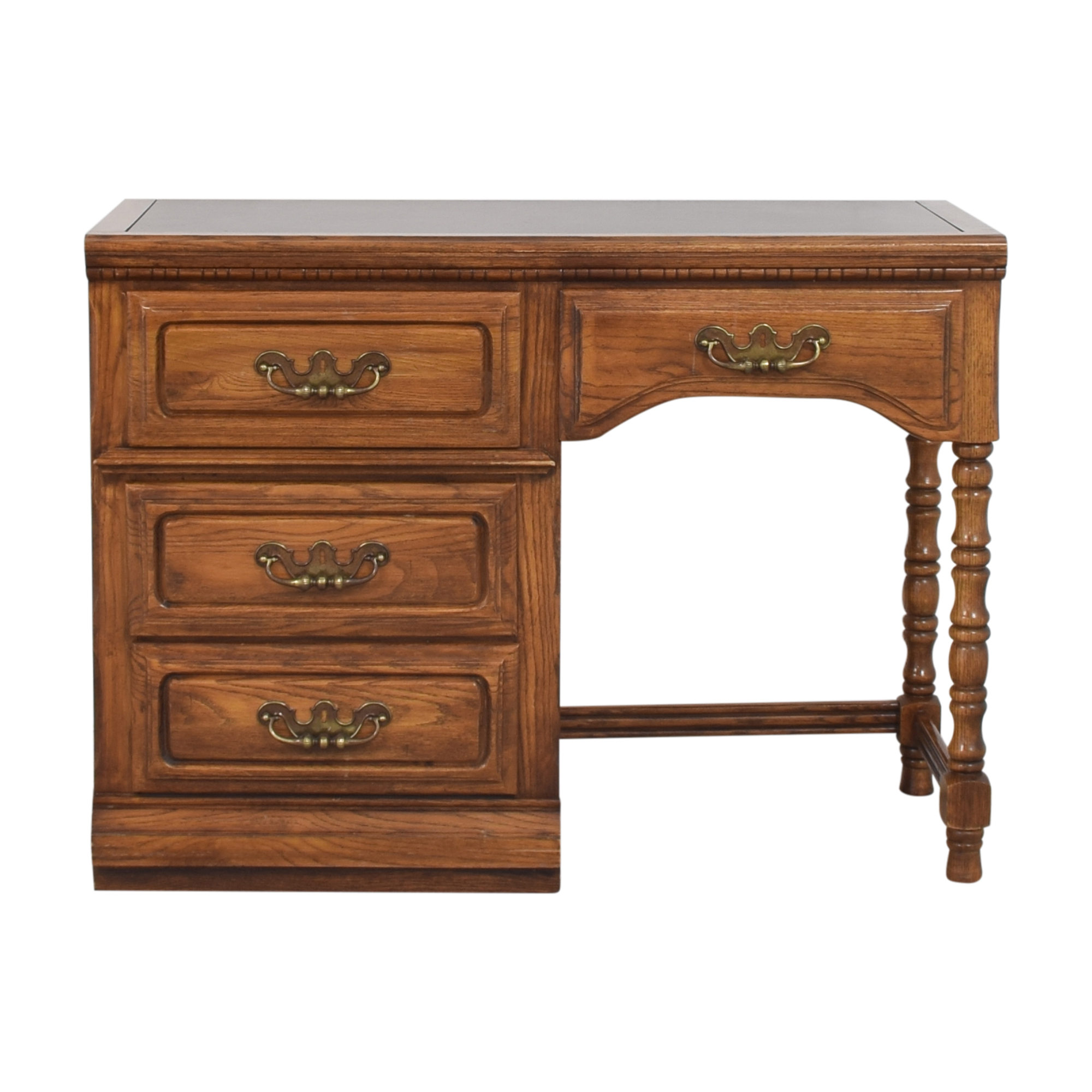 Lea Furniture Lea Furniture Four Drawer Desk nyc