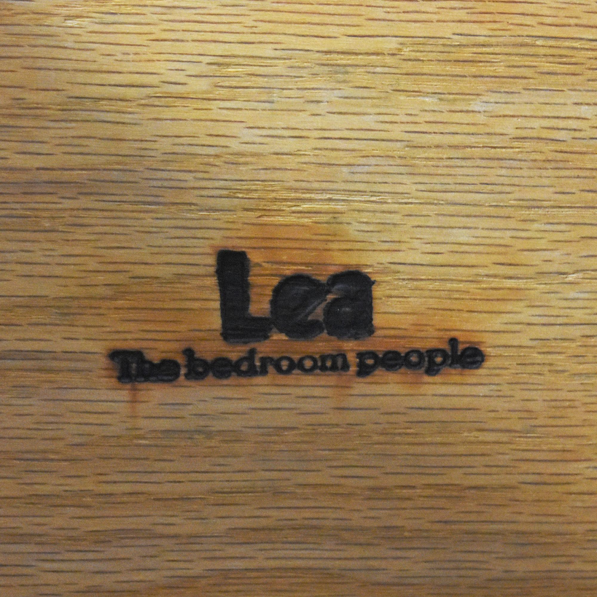 Lea Furniture Four Drawer Desk / Tables