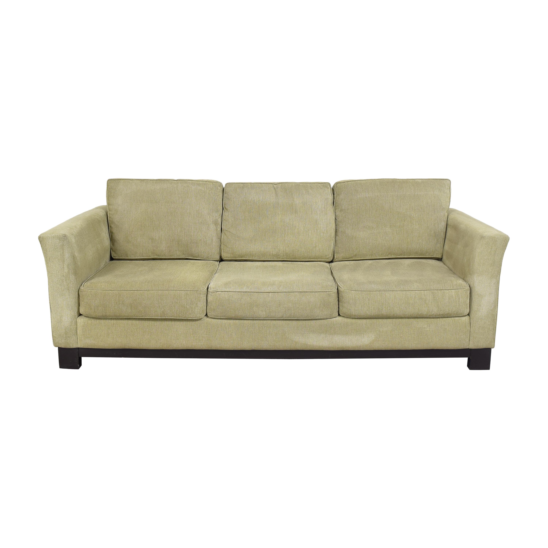 Macy's Macy's Elliot II Three Cushion Sofa Classic Sofas