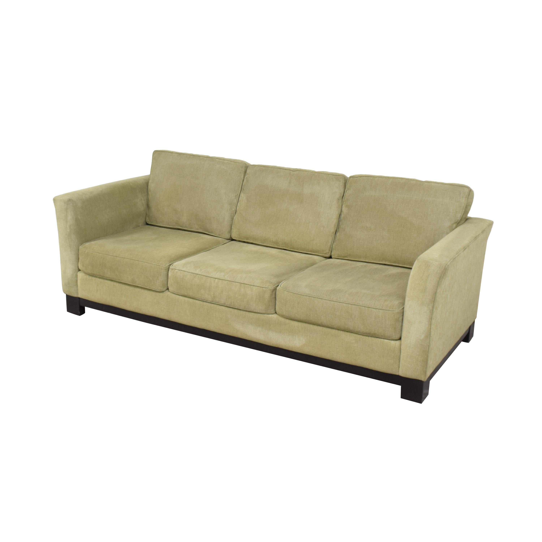 Macy's Macy's Elliot II Three Cushion Sofa Sofas