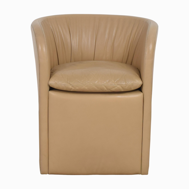 buy David Edward by John Saladino Barrel Chair David Edward