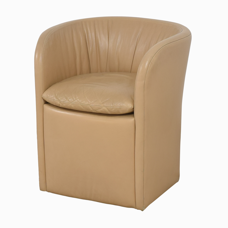 David Edward David Edward by John Saladino Barrel Chair discount