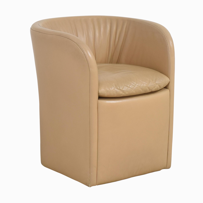 David Edward David Edward by John Saladino Barrel Chair Chairs
