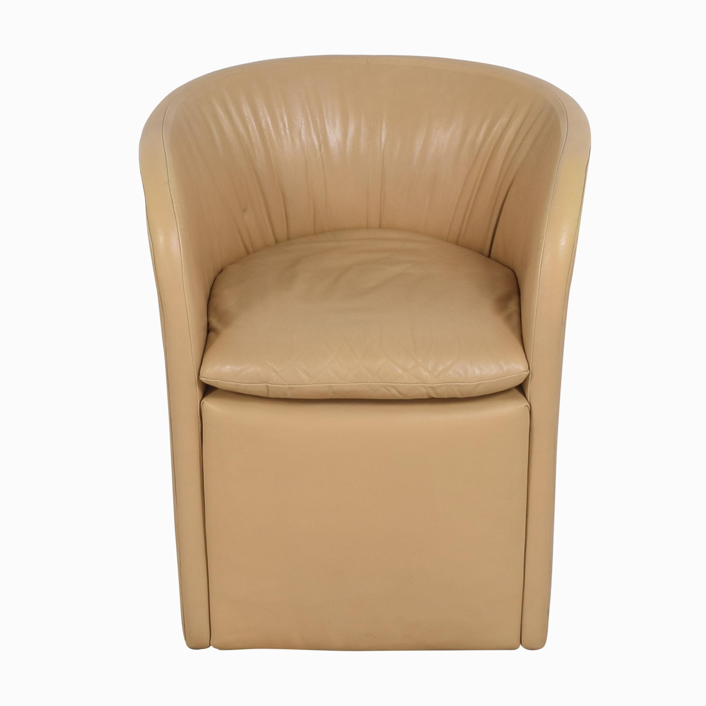 David Edward David Edward by John Saladino Barrel Chair Accent Chairs