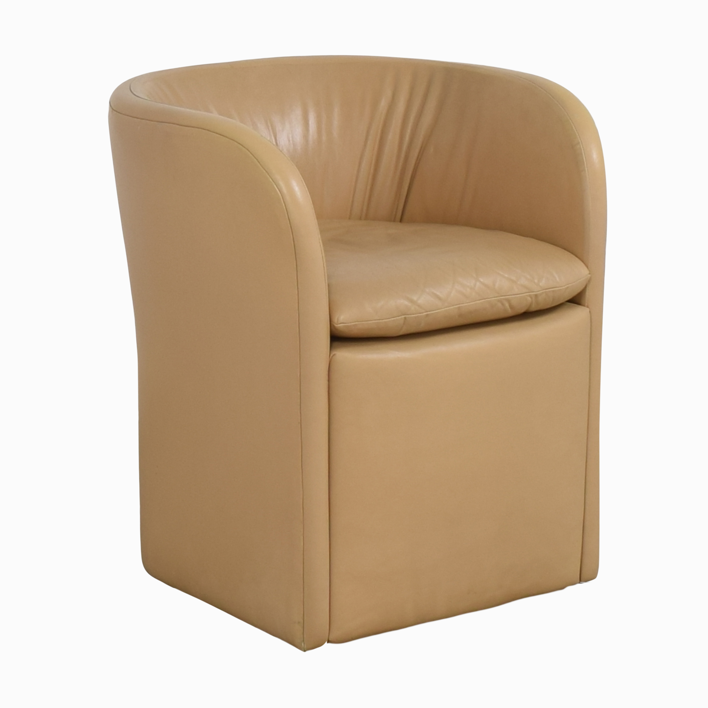 David Edward by John Saladino Barrel Chair / Accent Chairs