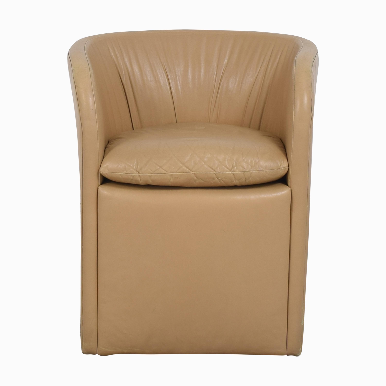 David Edward David Edward by John Saladino Barrel Chair