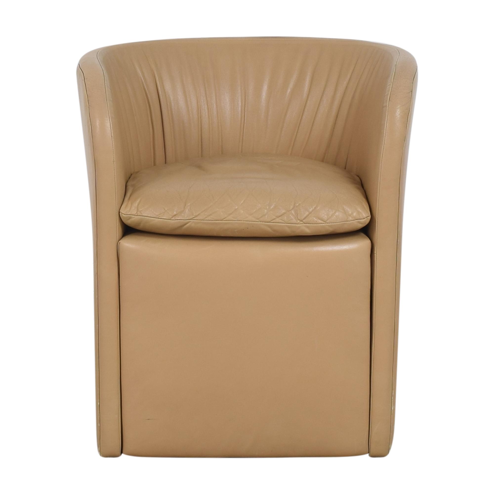 David Edward David Edward by John Saladino Barrel Chair nj