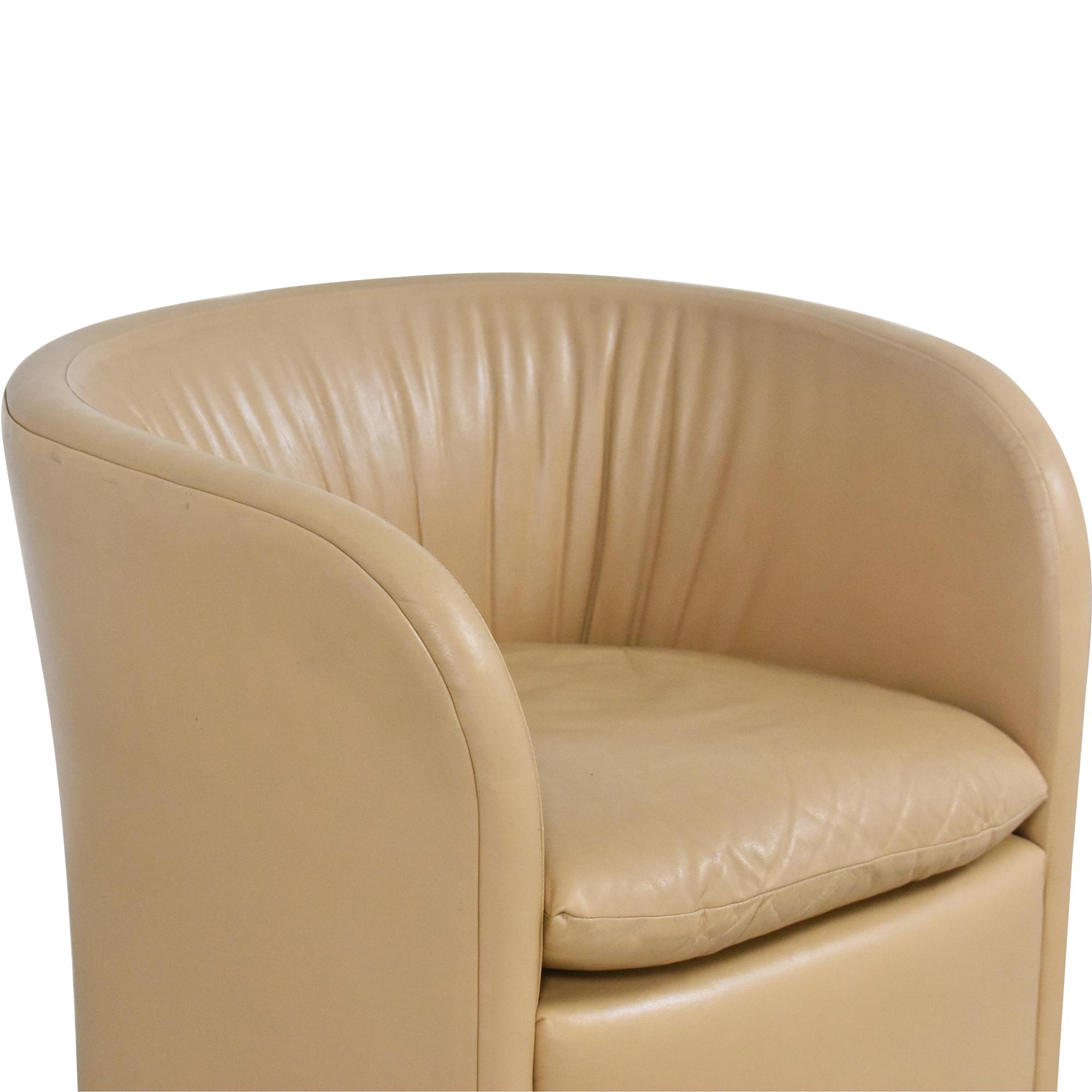 shop David Edward by John Saladino Barrel Chair David Edward Chairs
