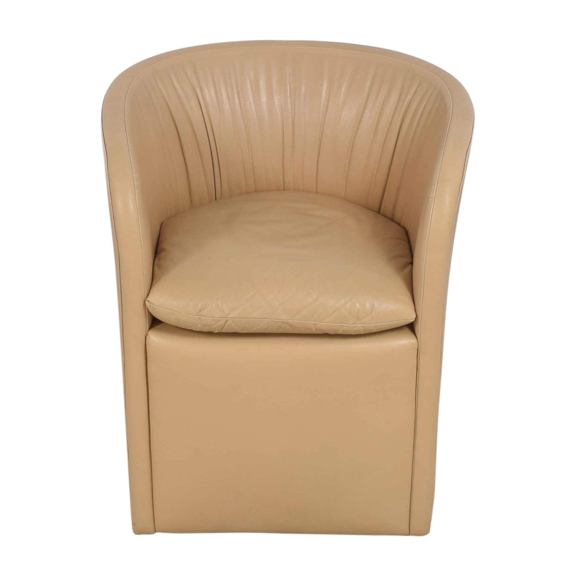 David Edward David Edward by John Saladino Barrel Chair coupon