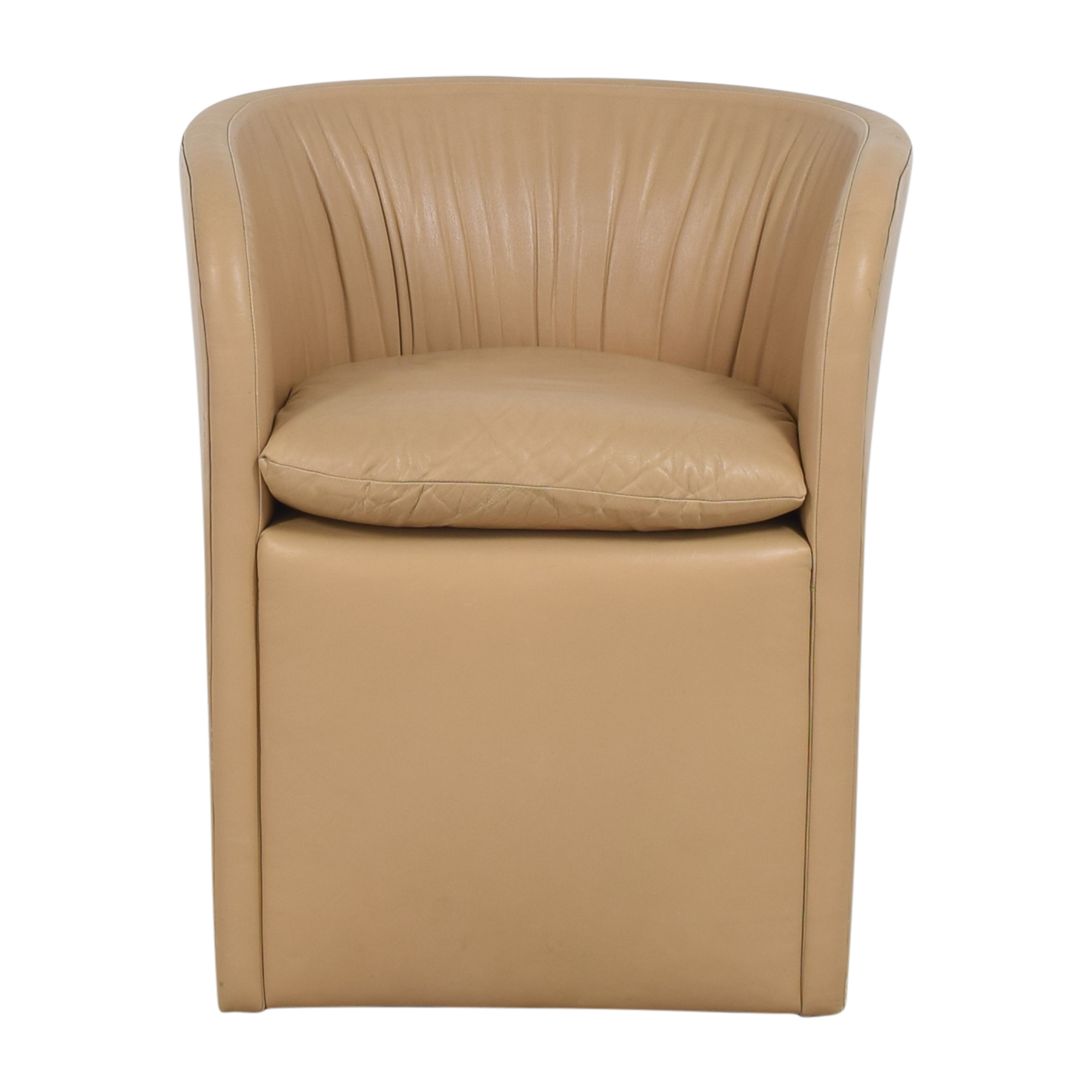 David Edward David Edward by John Saladino Barrel Chair nj