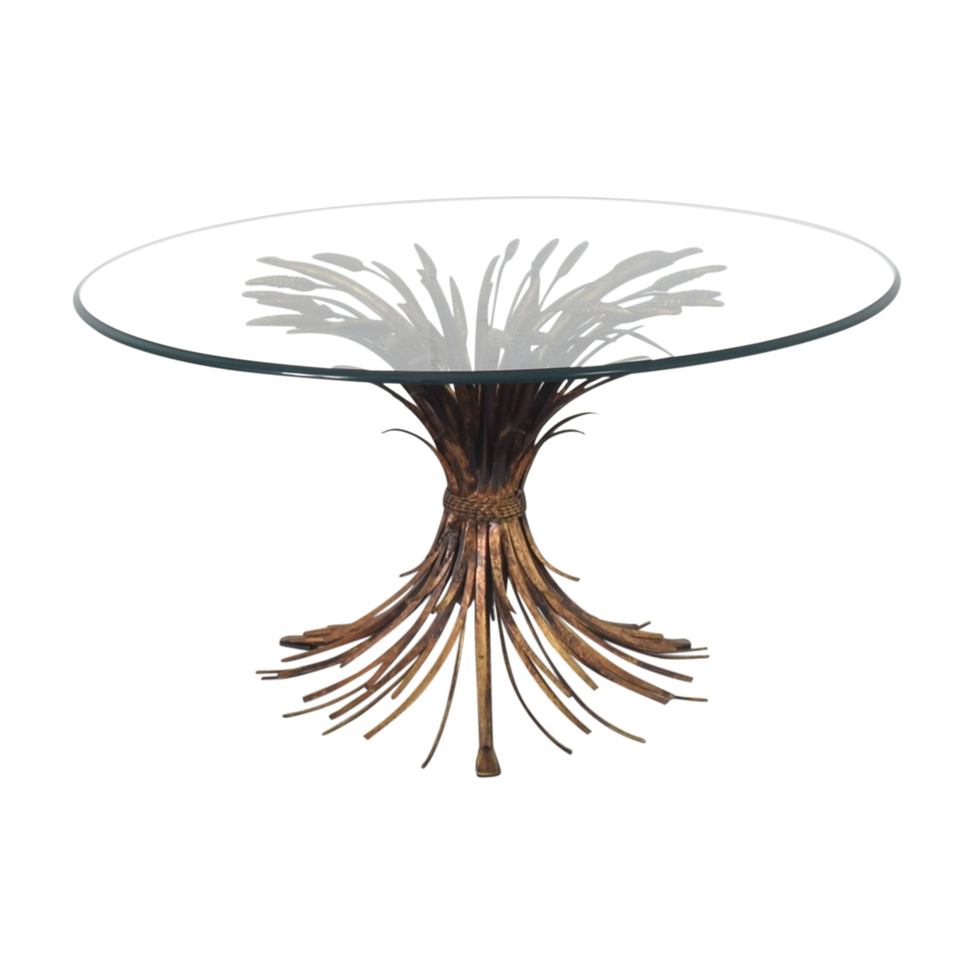 shop La Barge La Barge Round Transparent Coffee Table online