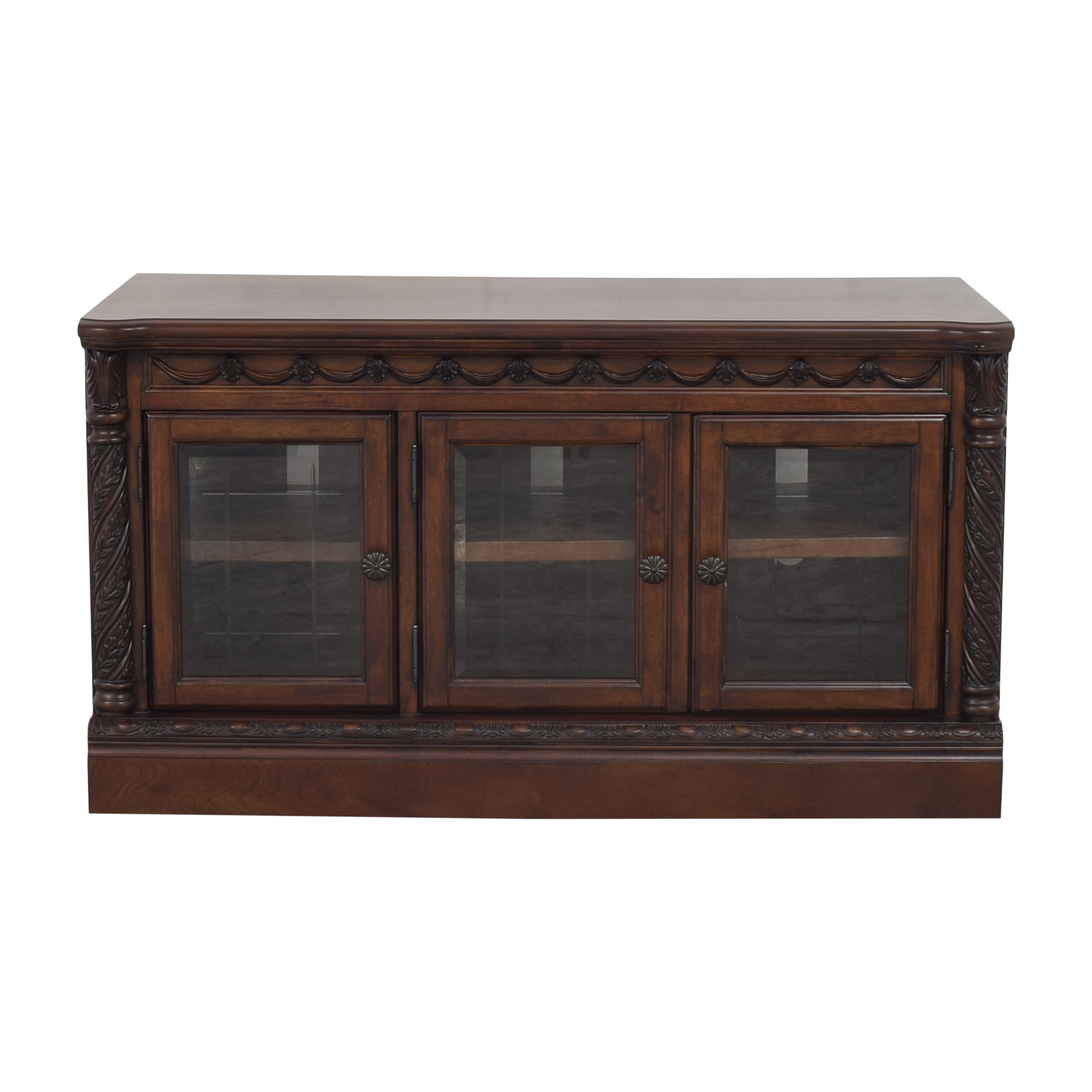 Ashley Furniture Ashley Furniture North Shore TV Stand dark brown