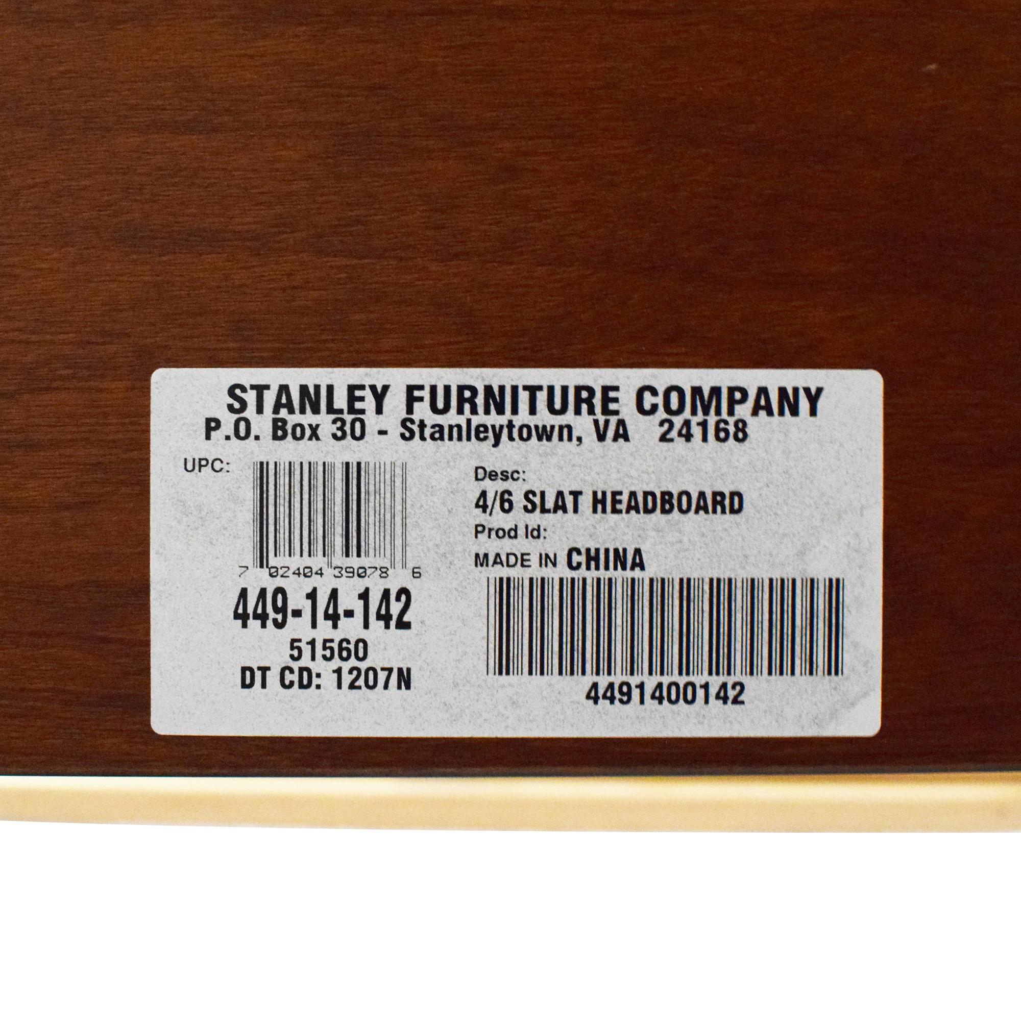 Stanley Furniture Stanley Furniture Full Slat Bed brown