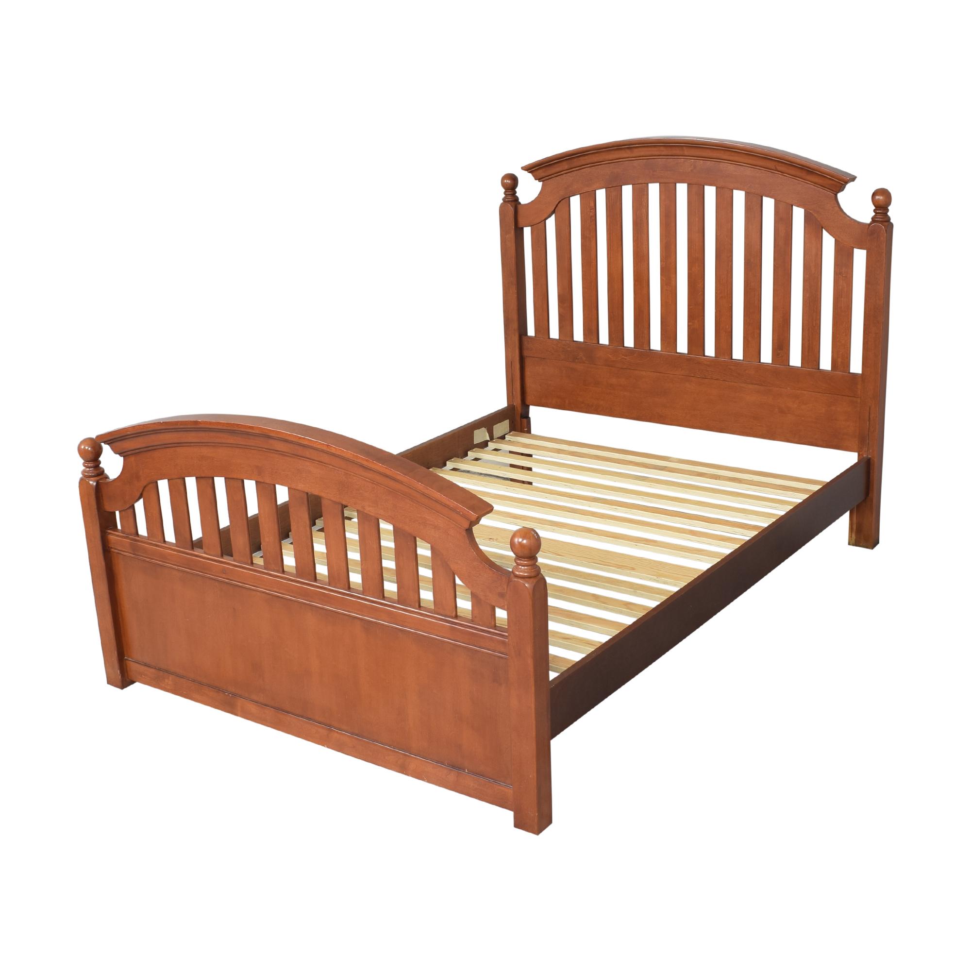 shop Stanley Furniture Full Slat Bed Stanley Furniture