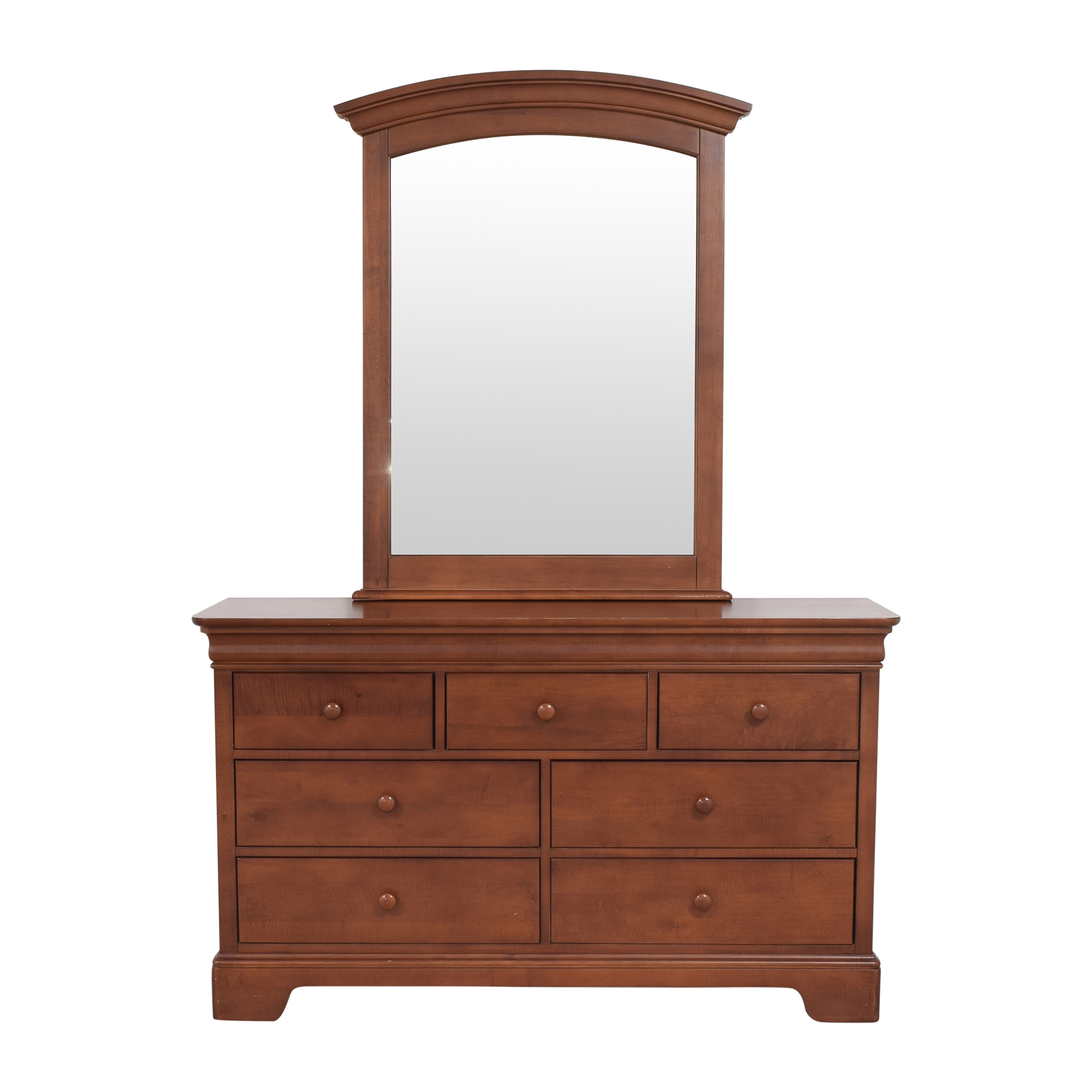Stanley Furniture Stanley Furniture Young America Double Dresser with Mirror price