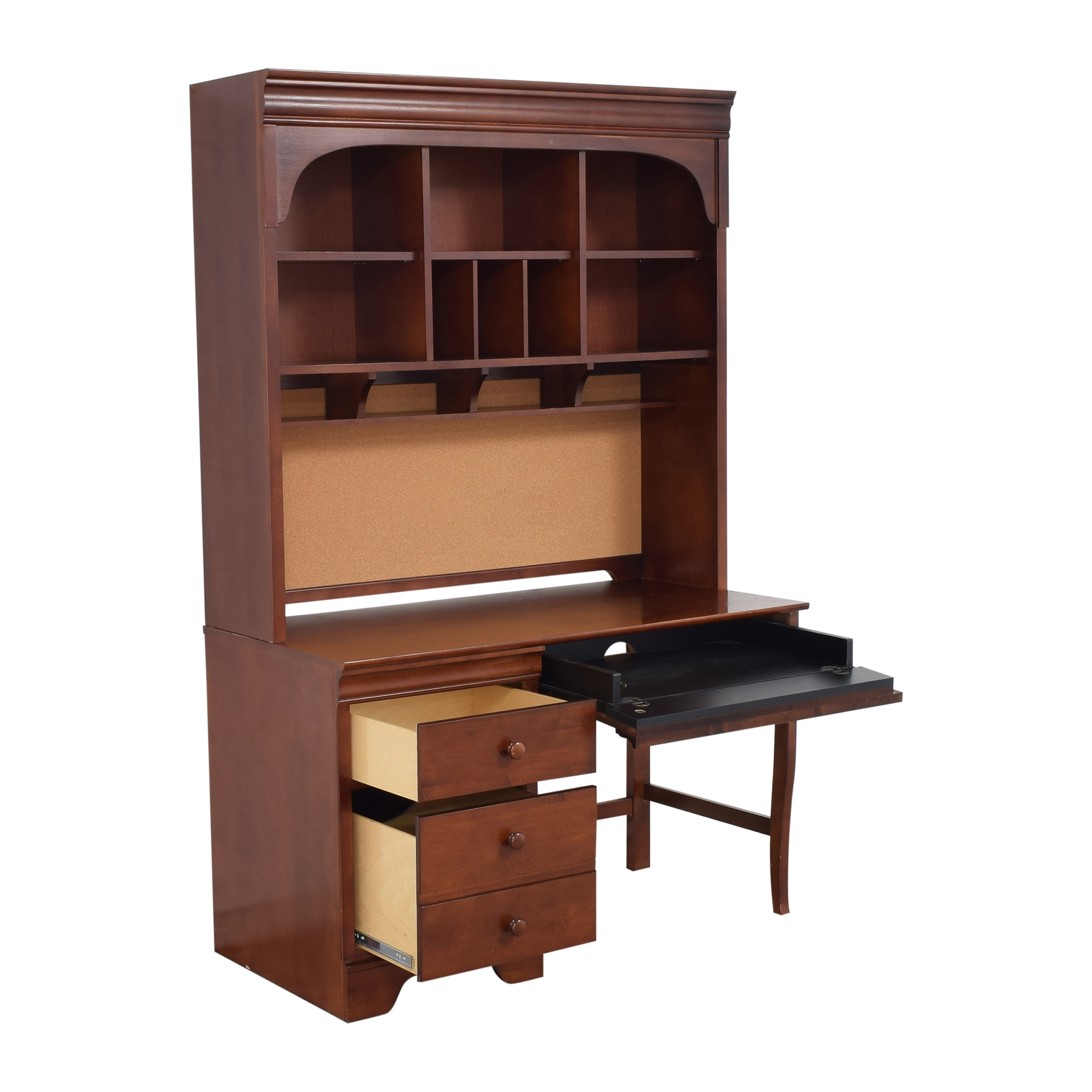 Stanley Furniture Young America Desk with Hutch / Tables