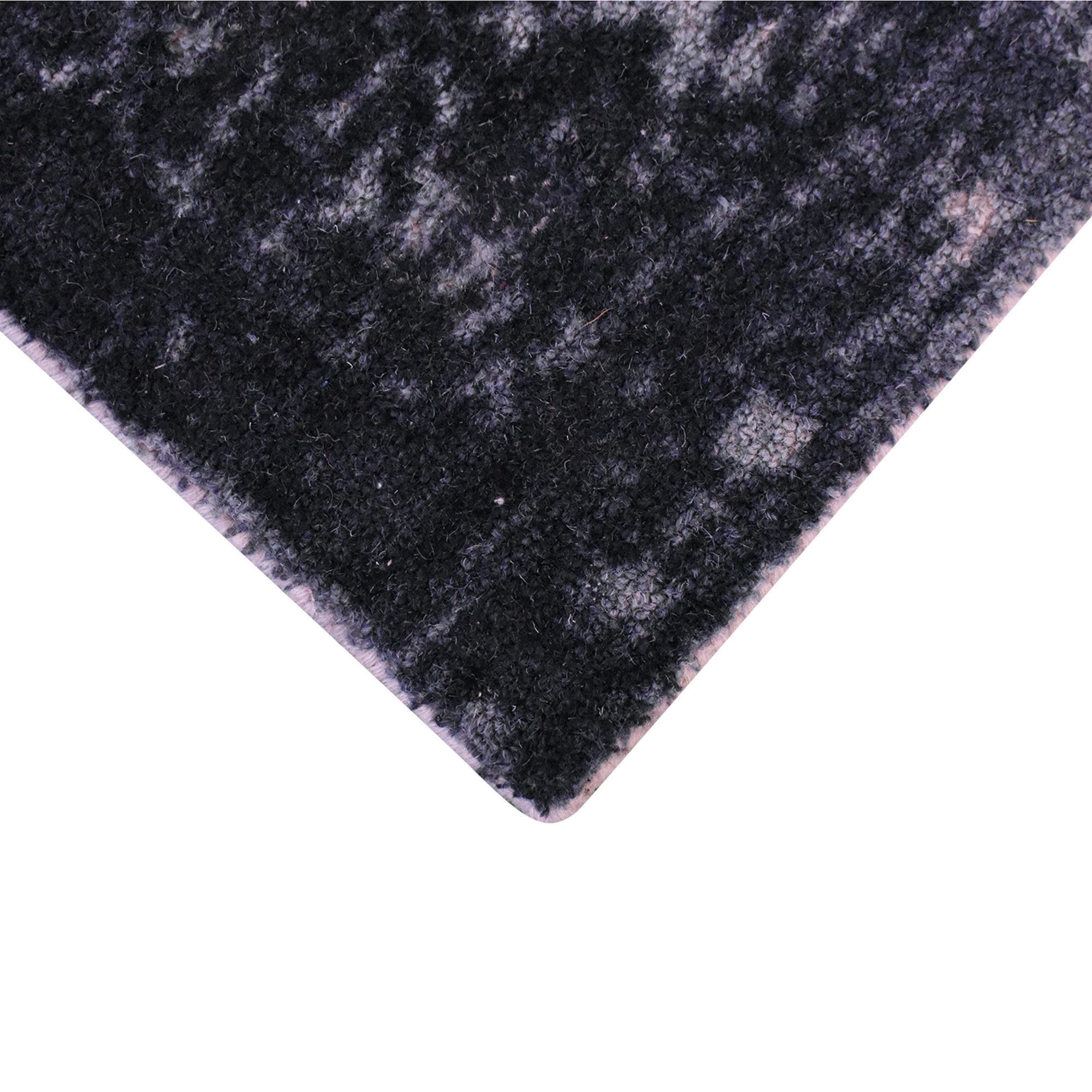 West Elm West Elm Distressed Arabesque Wool Rug