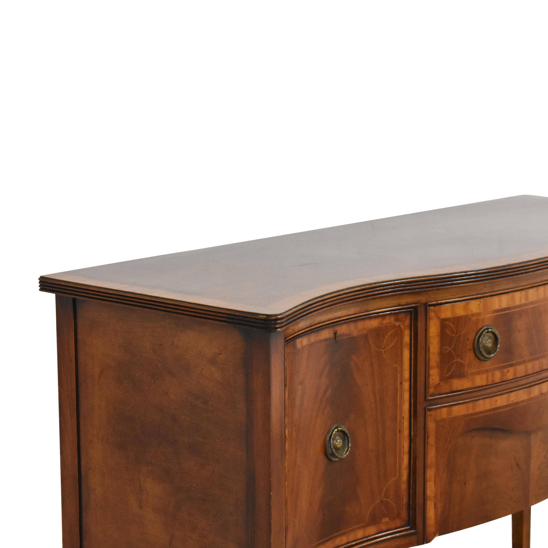 Vintage Hepplewhite Serpentine Sideboard